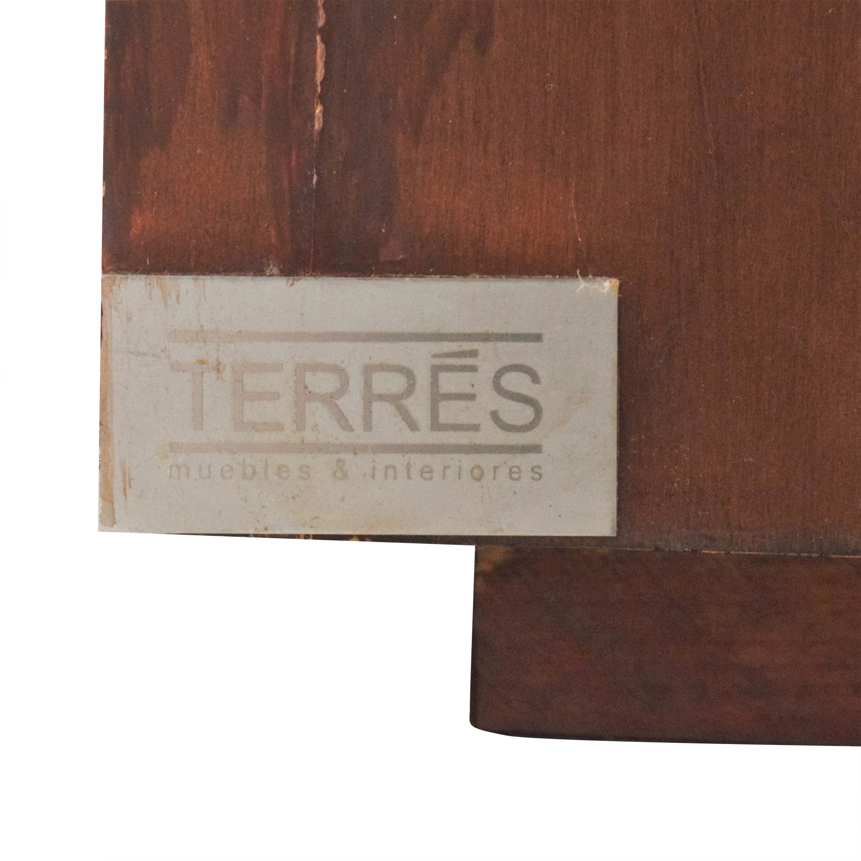 Terres Terres Square Dining Table dimensions