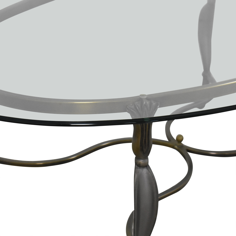 Oval Coffee Table sale