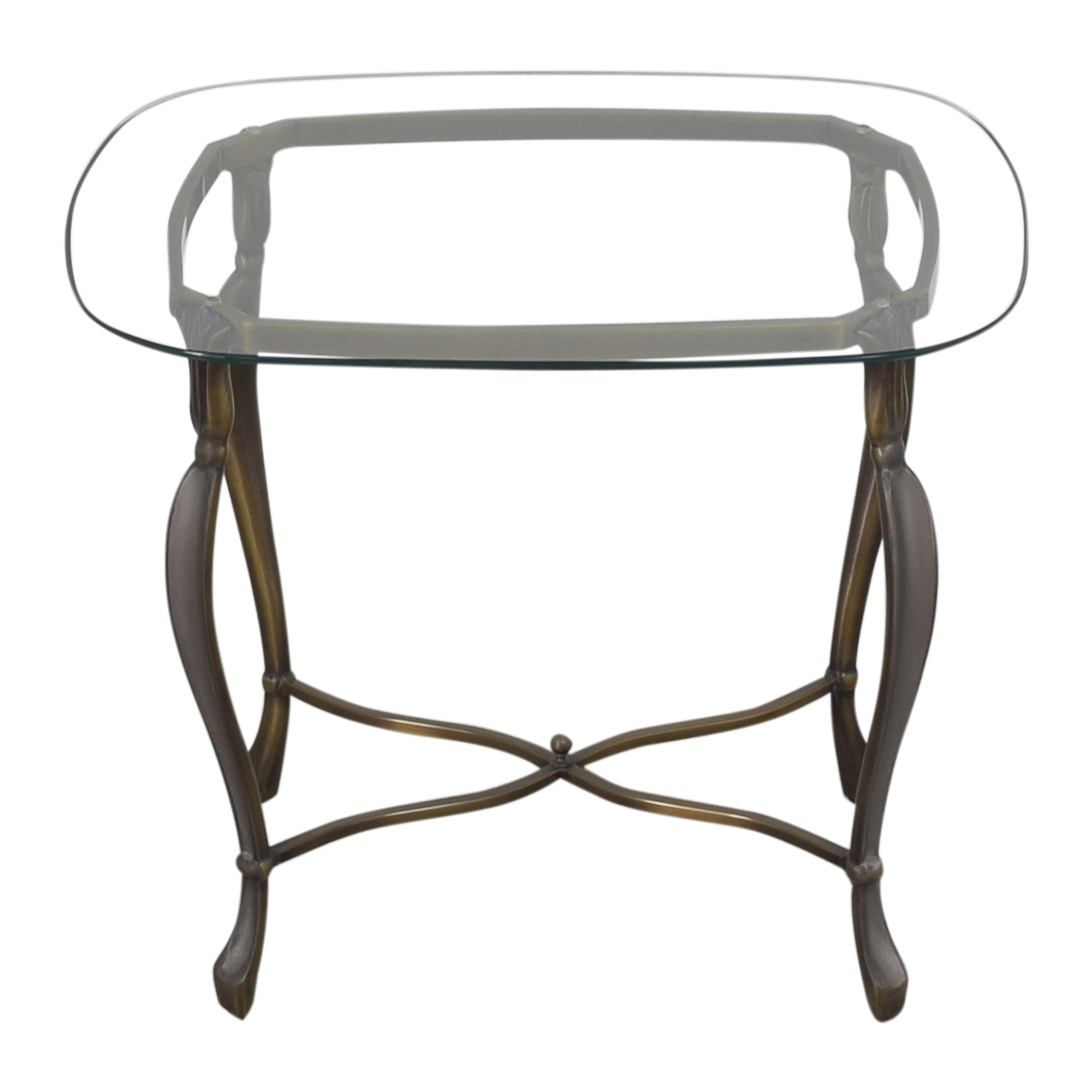 Rounded Rectangular End Table