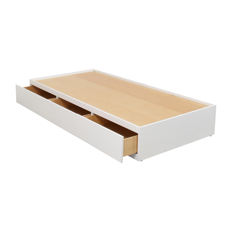 Urbangreen Furniture Urbangreen Twin Storage Bed nyc