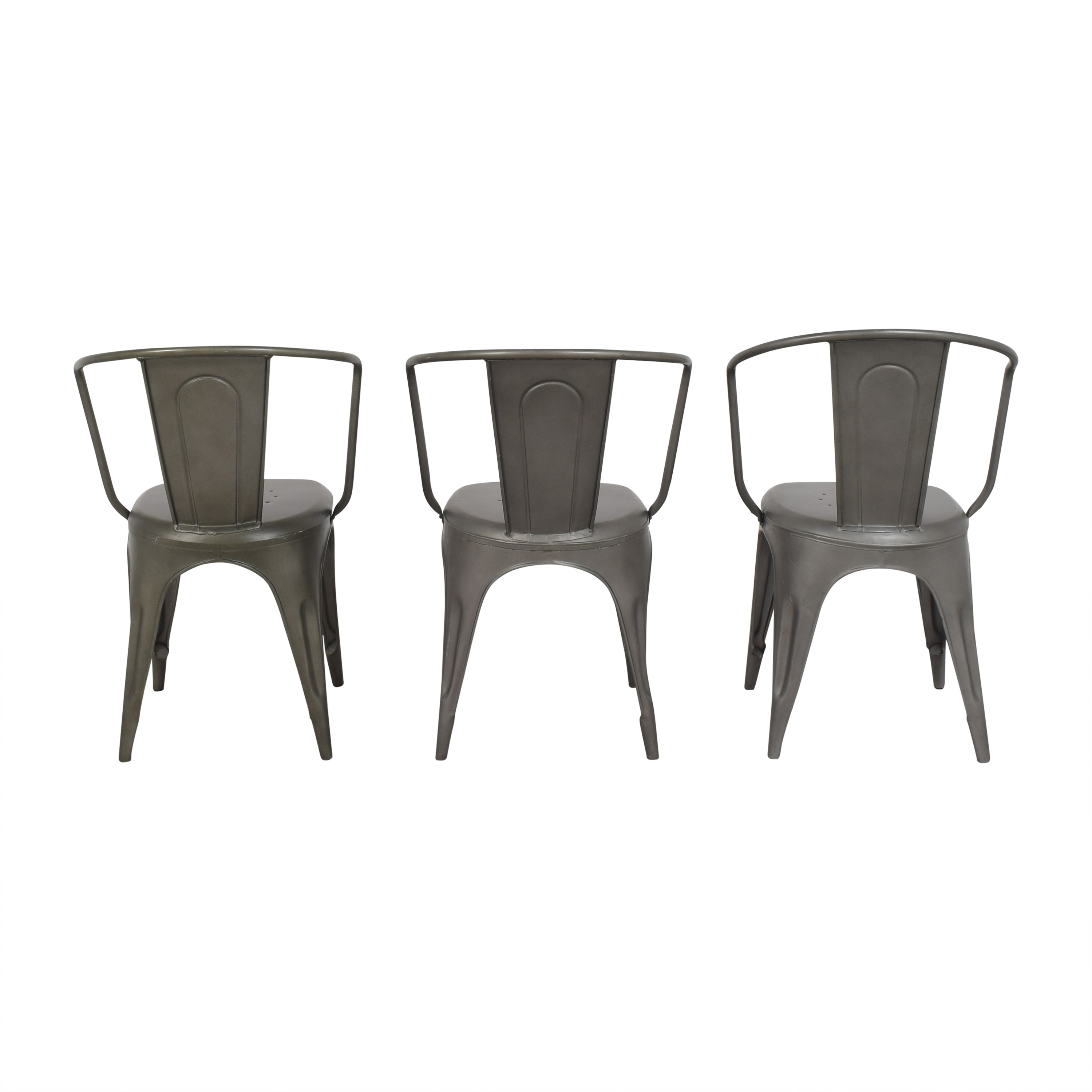 Restoration Hardware Restoration Hardware Marcel Modern Armchairs Dining Chairs
