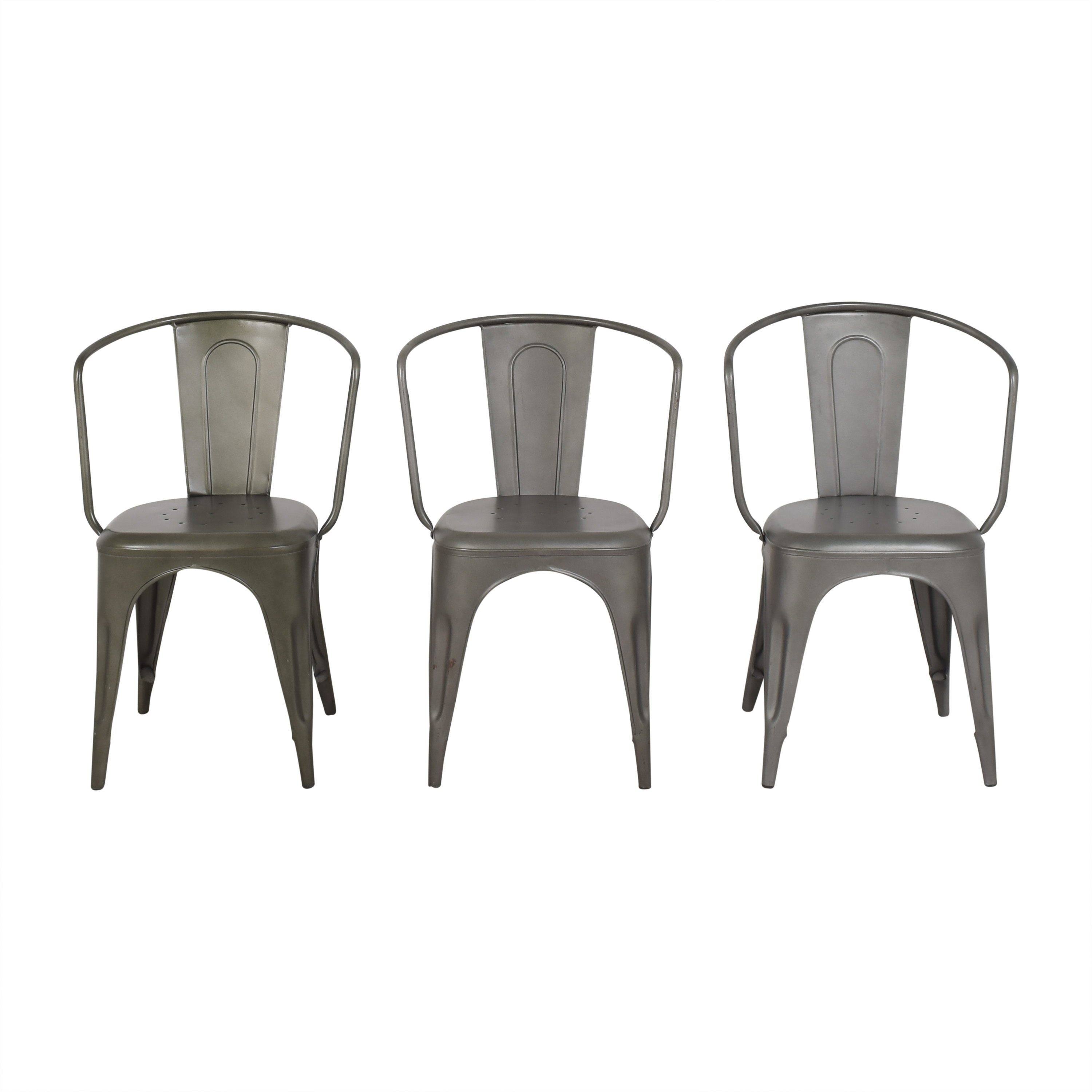 Restoration Hardware Restoration Hardware Marcel Modern Armchairs on sale