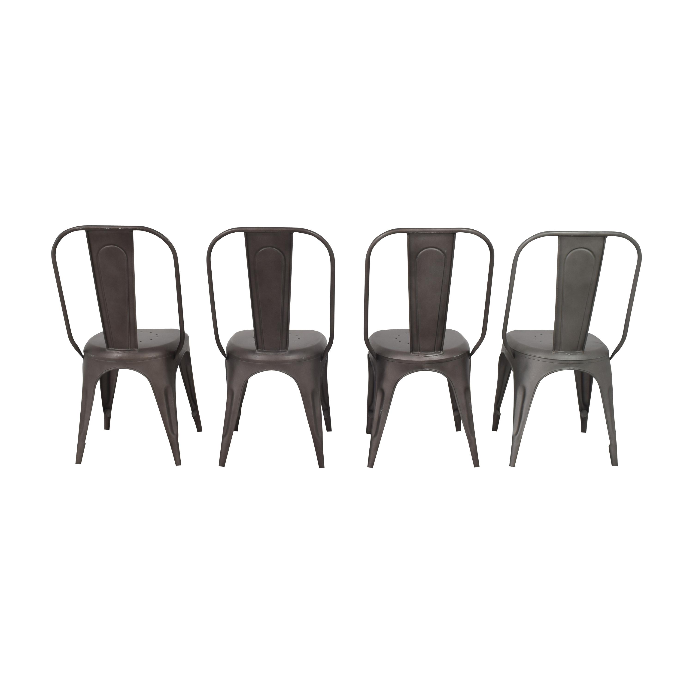 Restoration Hardware Restoration Hardware Remy Side Chairs  nj
