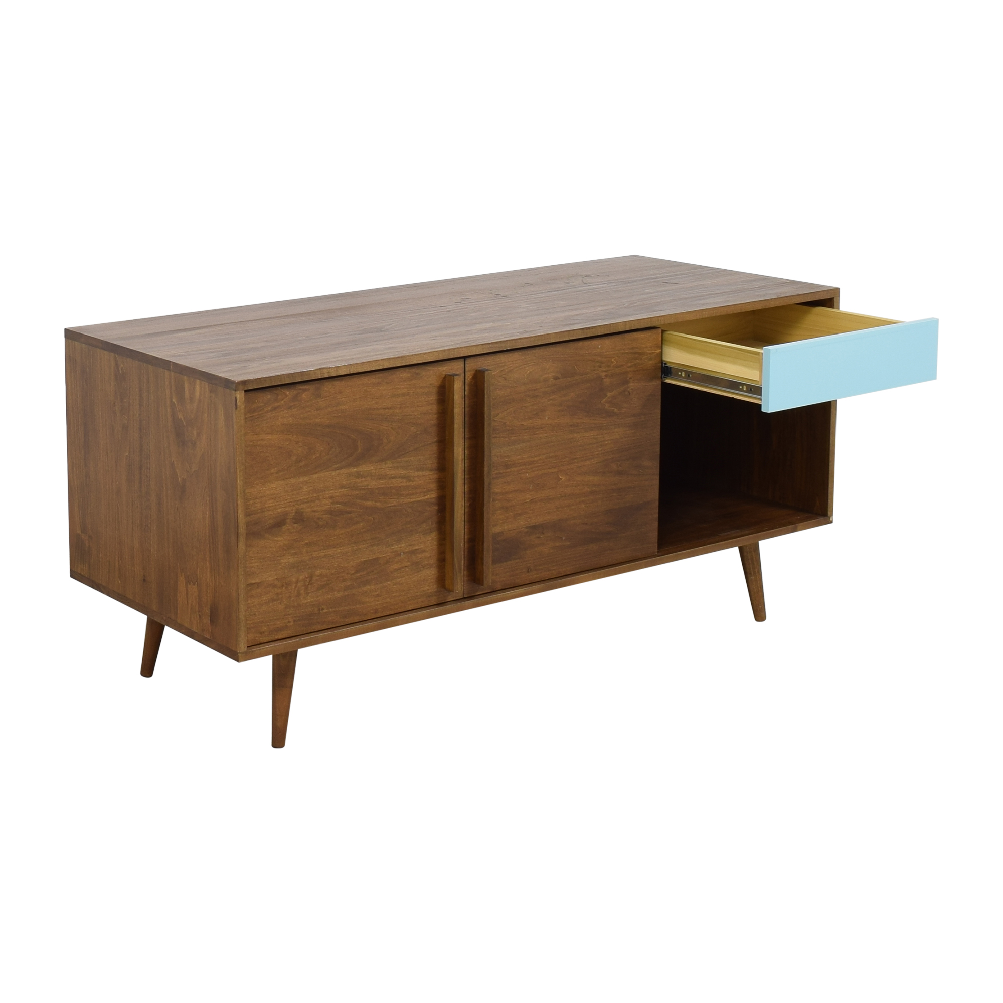 Design Within Reach Sliding Door Credenza / Storage