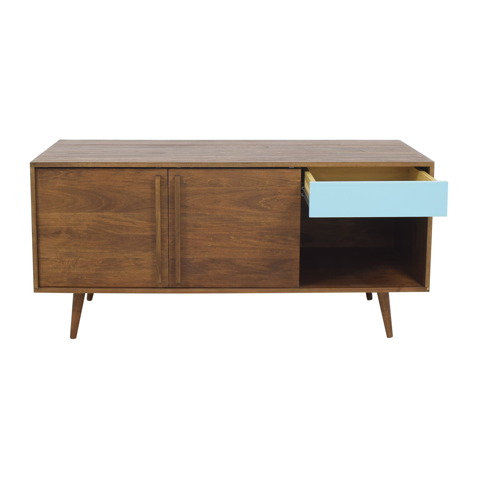 shop Design Within Reach Sliding Door Credenza Design Within Reach Storage