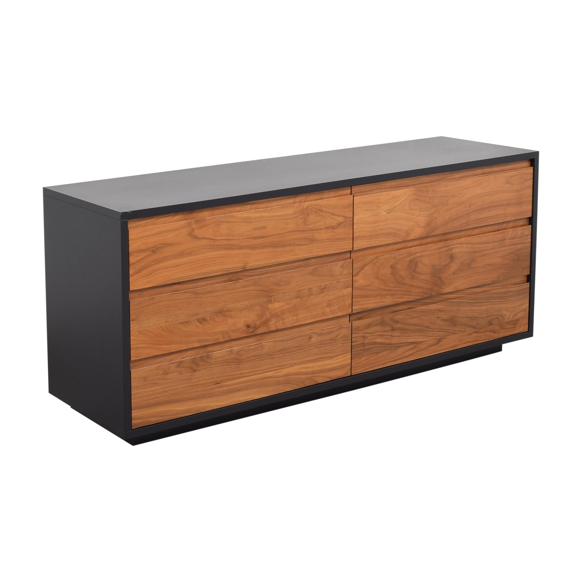 buy Room & Board Six Drawer Double Dresser Room & Board Dressers