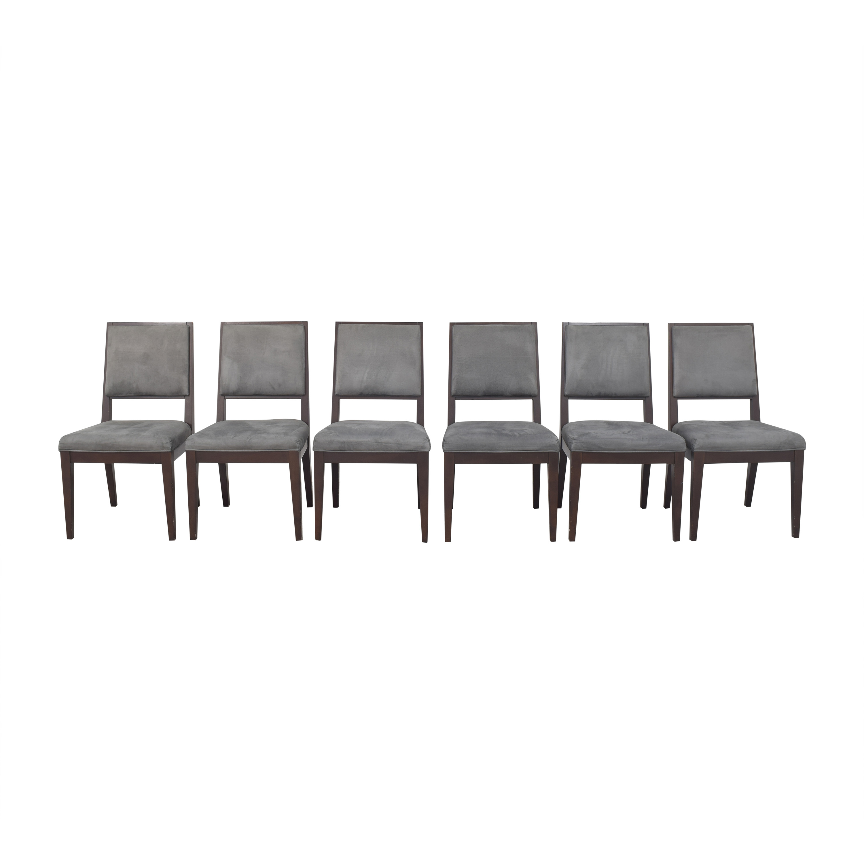 Crate & Barrel Square Back Dining Chairs Crate & Barrel