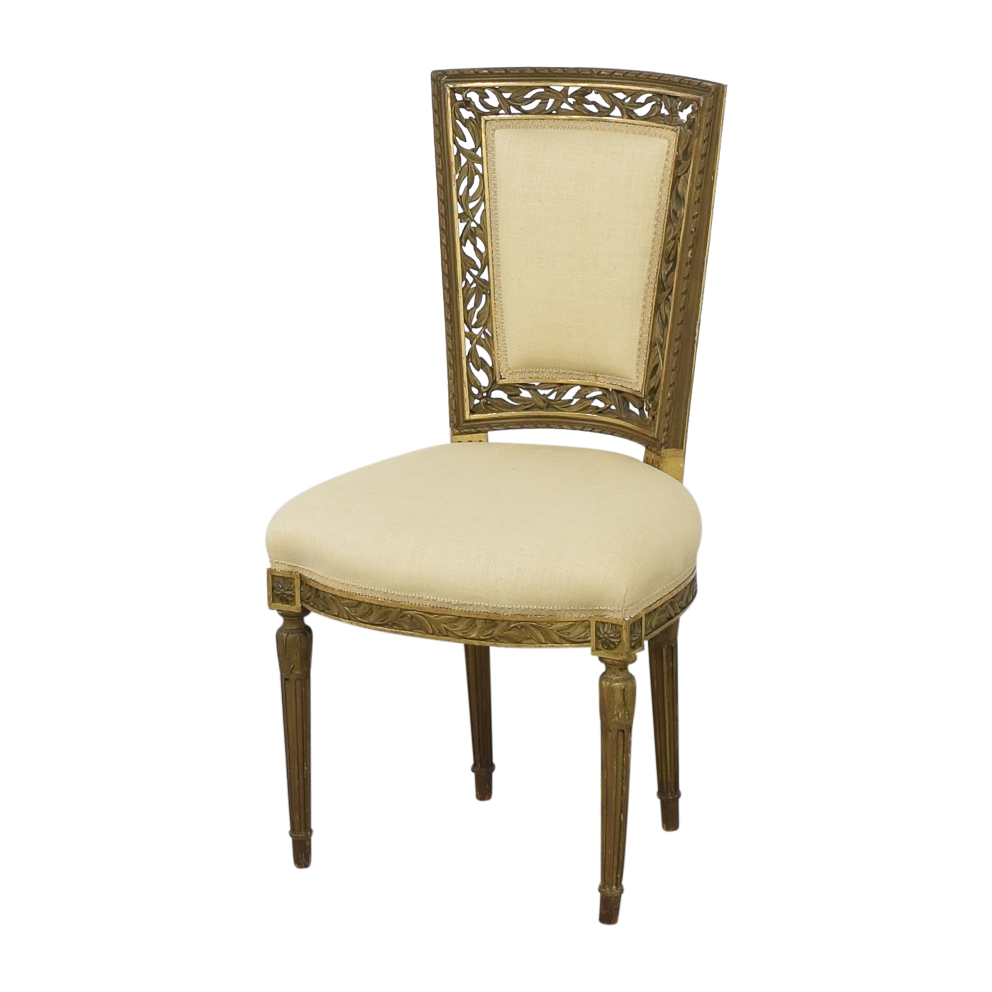 Louis XVI Style Accent Chairs ct