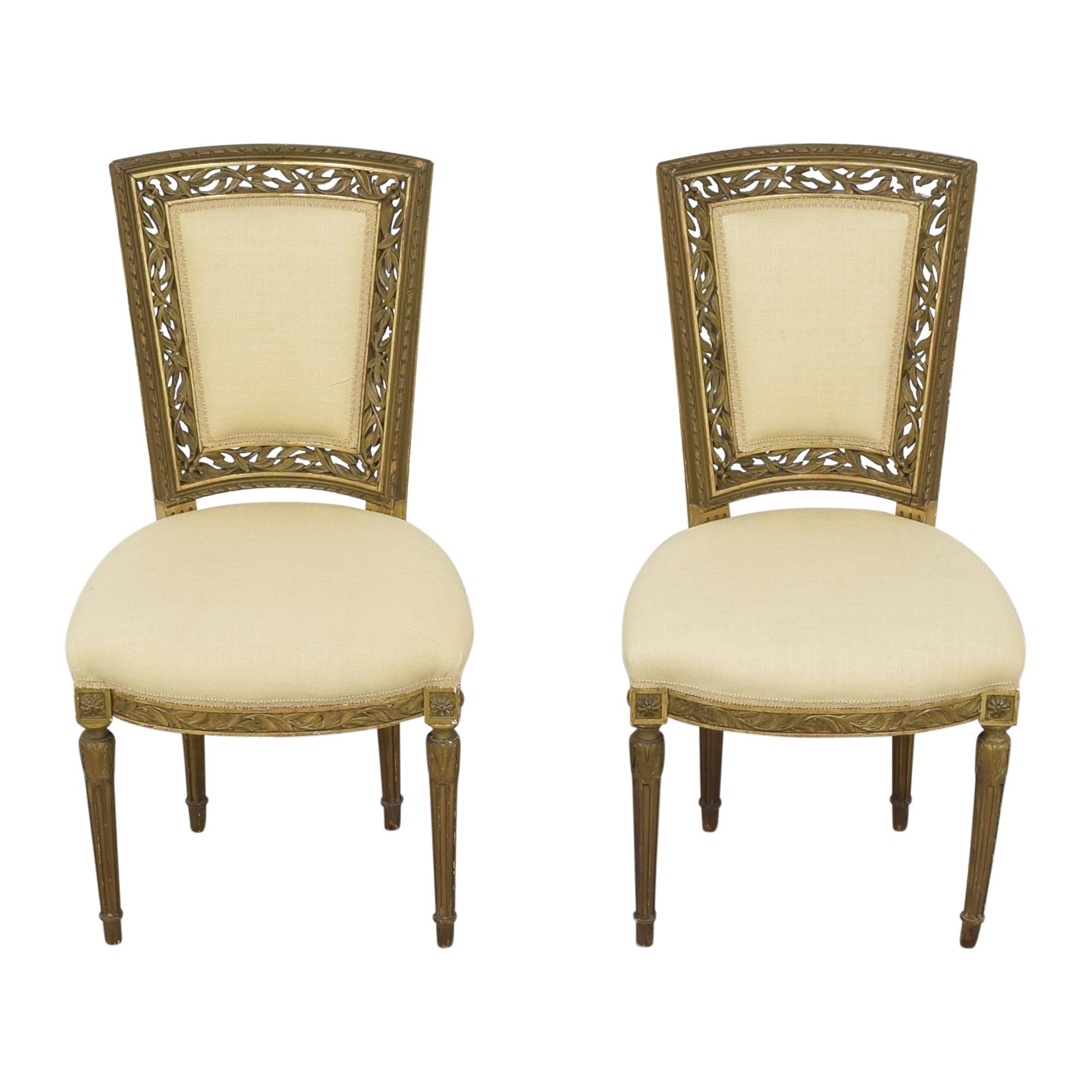 Louis XVI Style Accent Chairs