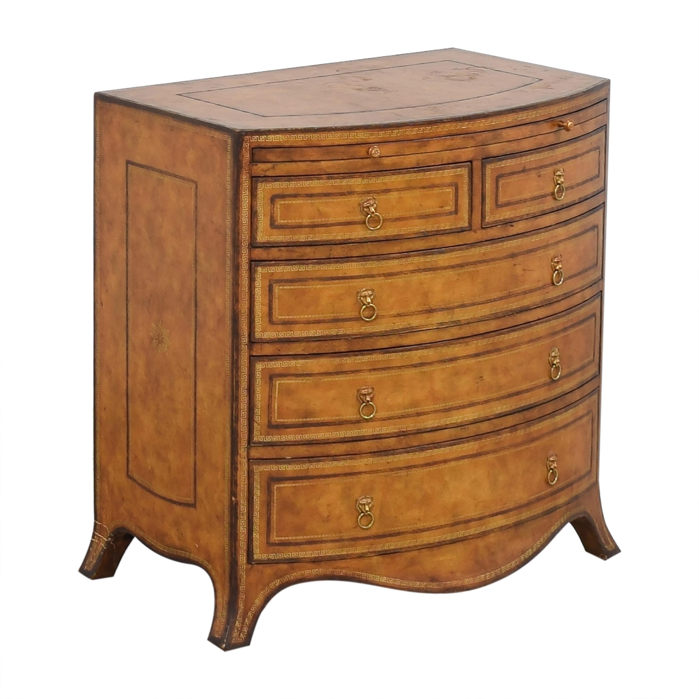shop Maitland-Smith Georgian-Style Bachelor's Chest Maitland-Smith Dressers