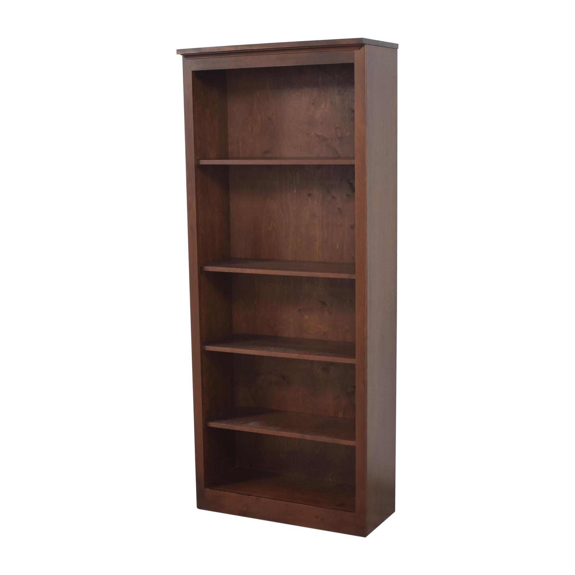Crate & Barrel Crate & Barrel Tall Bookcase brown
