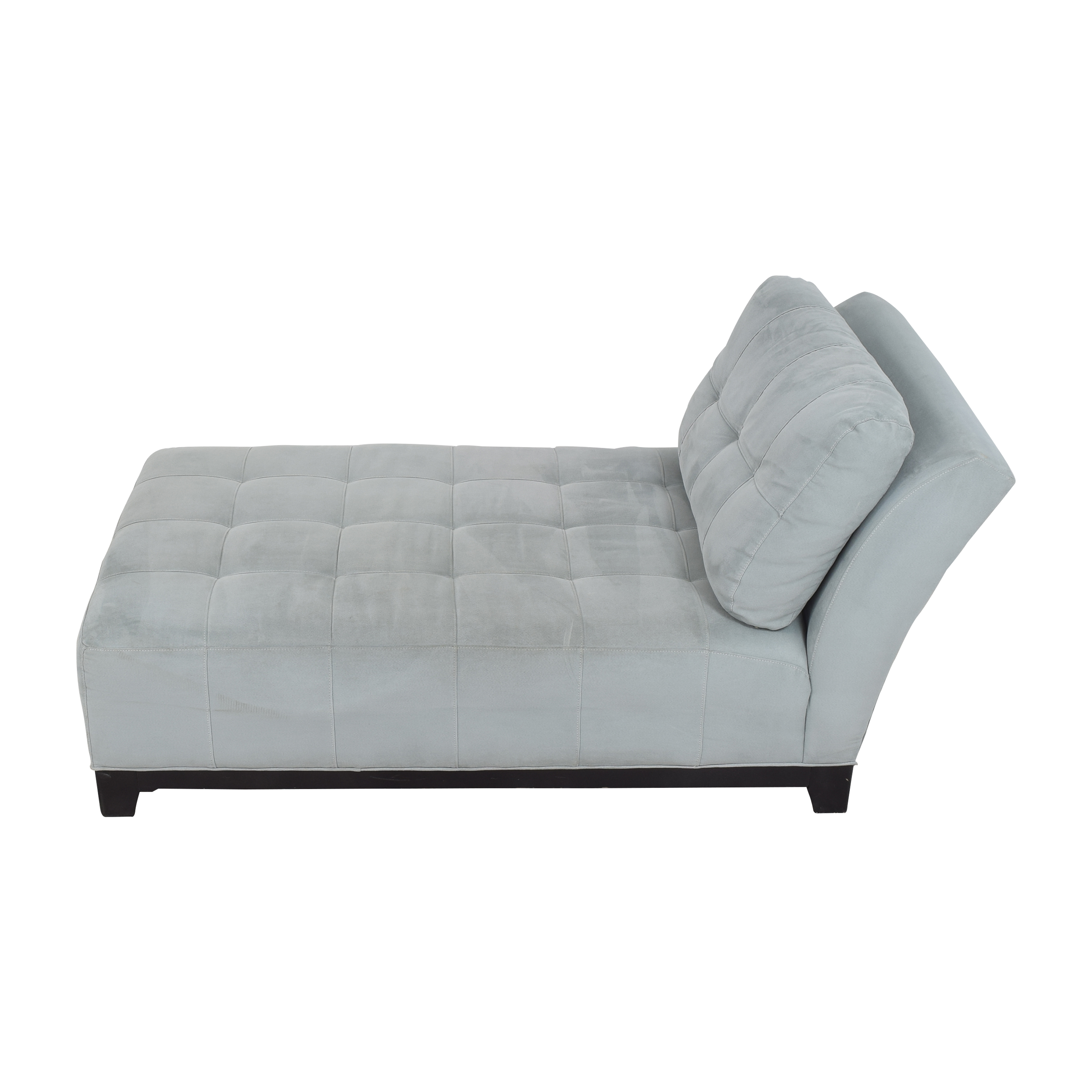 Raymour & Flanigan Raymour & Flanigan Tufted Chaise dimensions