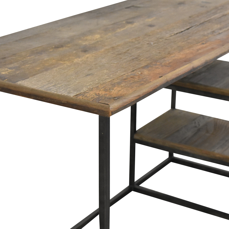 Restoration Hardware Restoration Hardware Fulton Desk dark gray and brown