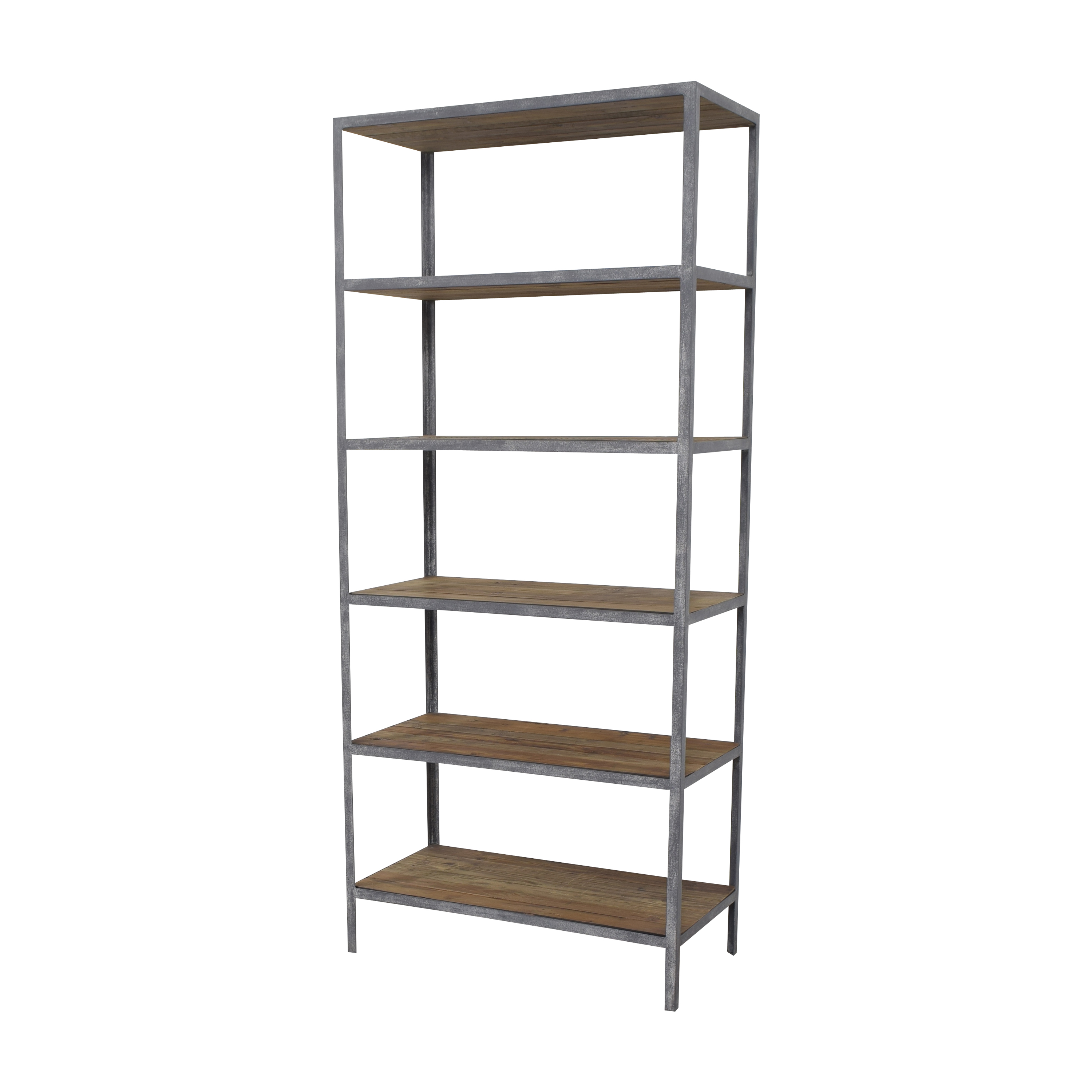 Restoration Hardware Restoration Hardware Vintage Industrial Single Shelving gray and brown