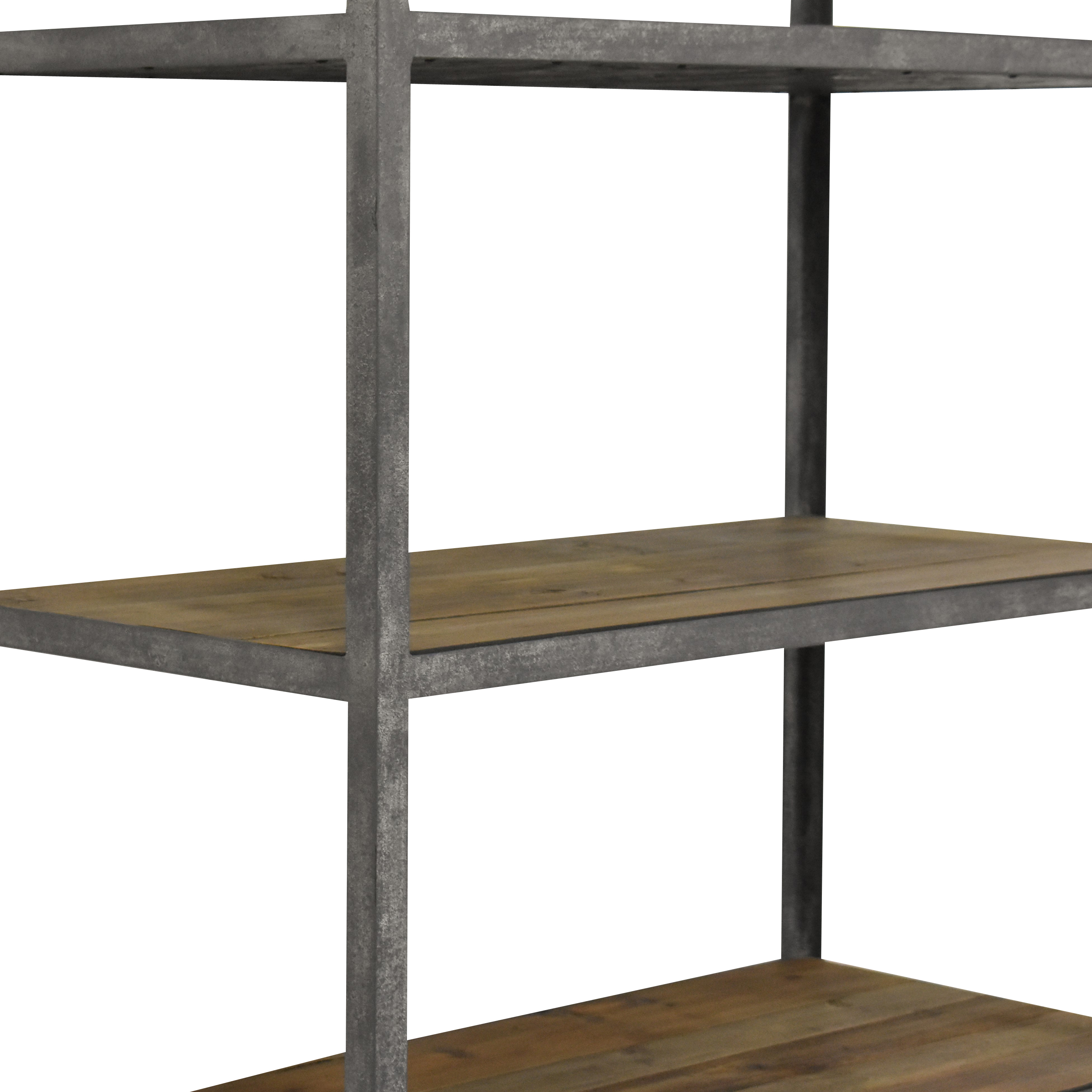 Restoration Hardware Restoration Hardware Vintage Industrial Single Shelving dimensions