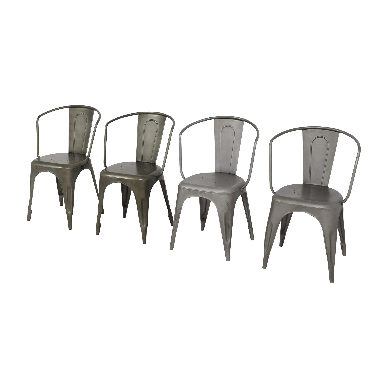 buy Restoration Hardware Restoration Hardware Marcel Modern Armchairs online