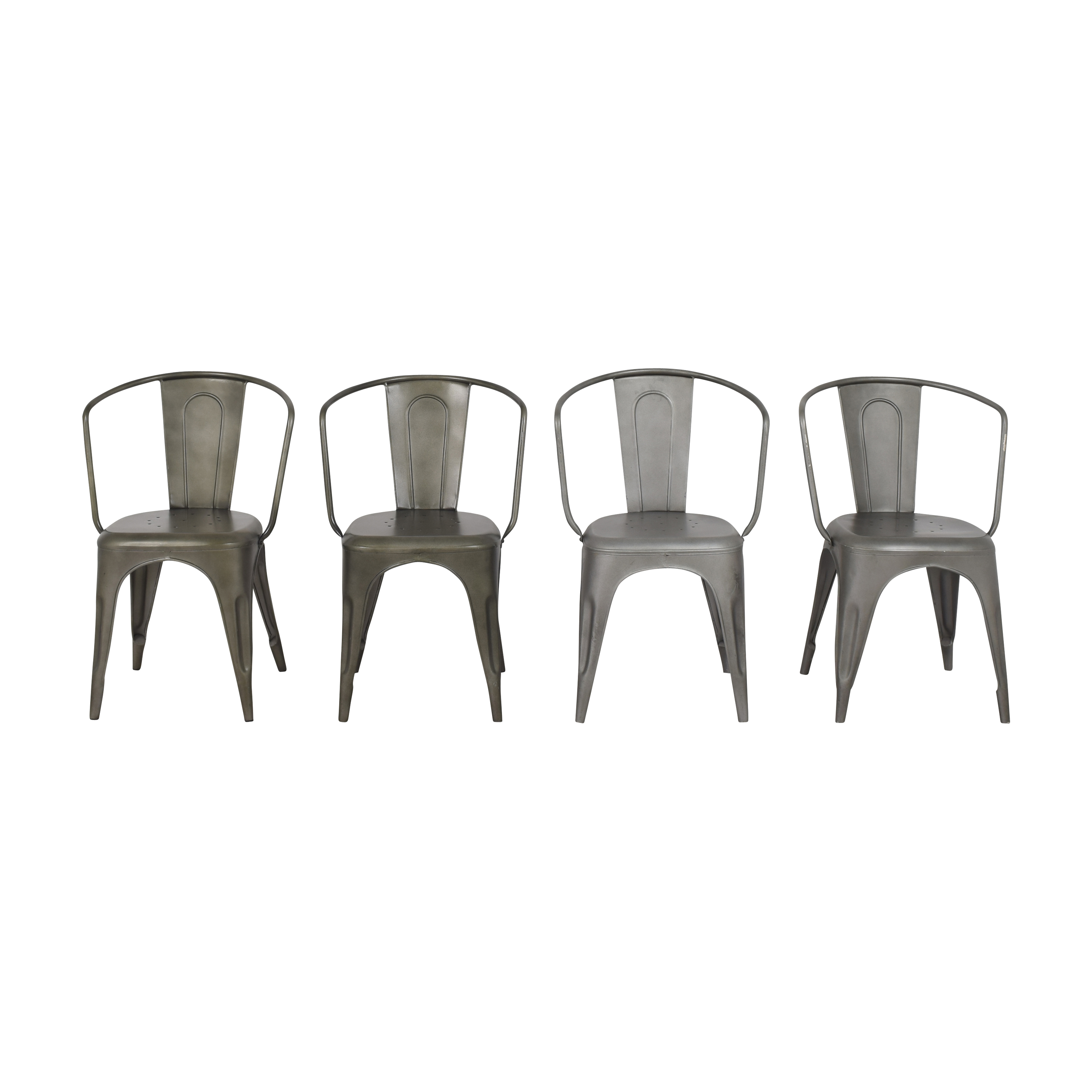 Restoration Hardware Restoration Hardware Marcel Modern Armchairs coupon