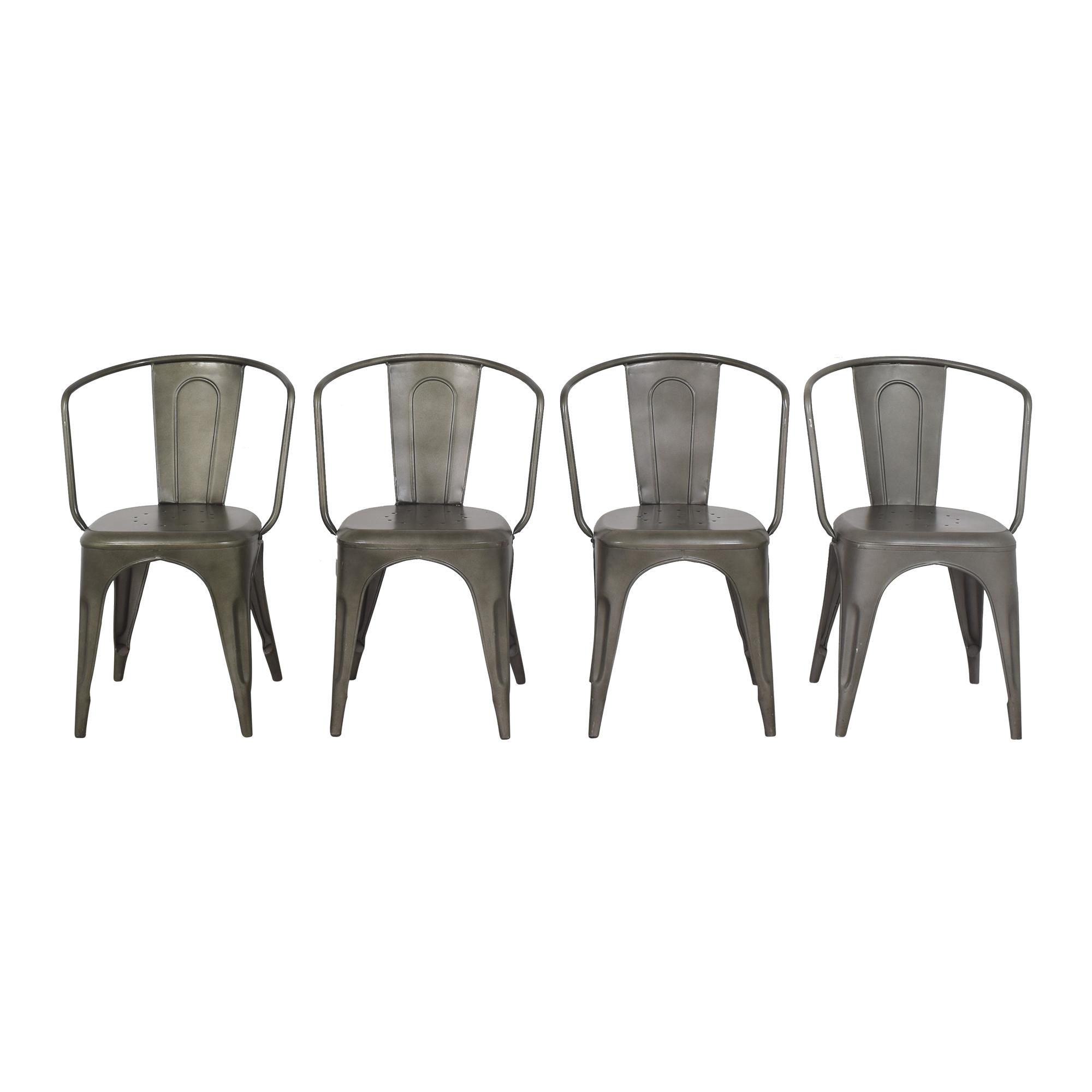 shop Restoration Hardware Marcel Modern Armchairs Restoration Hardware Chairs
