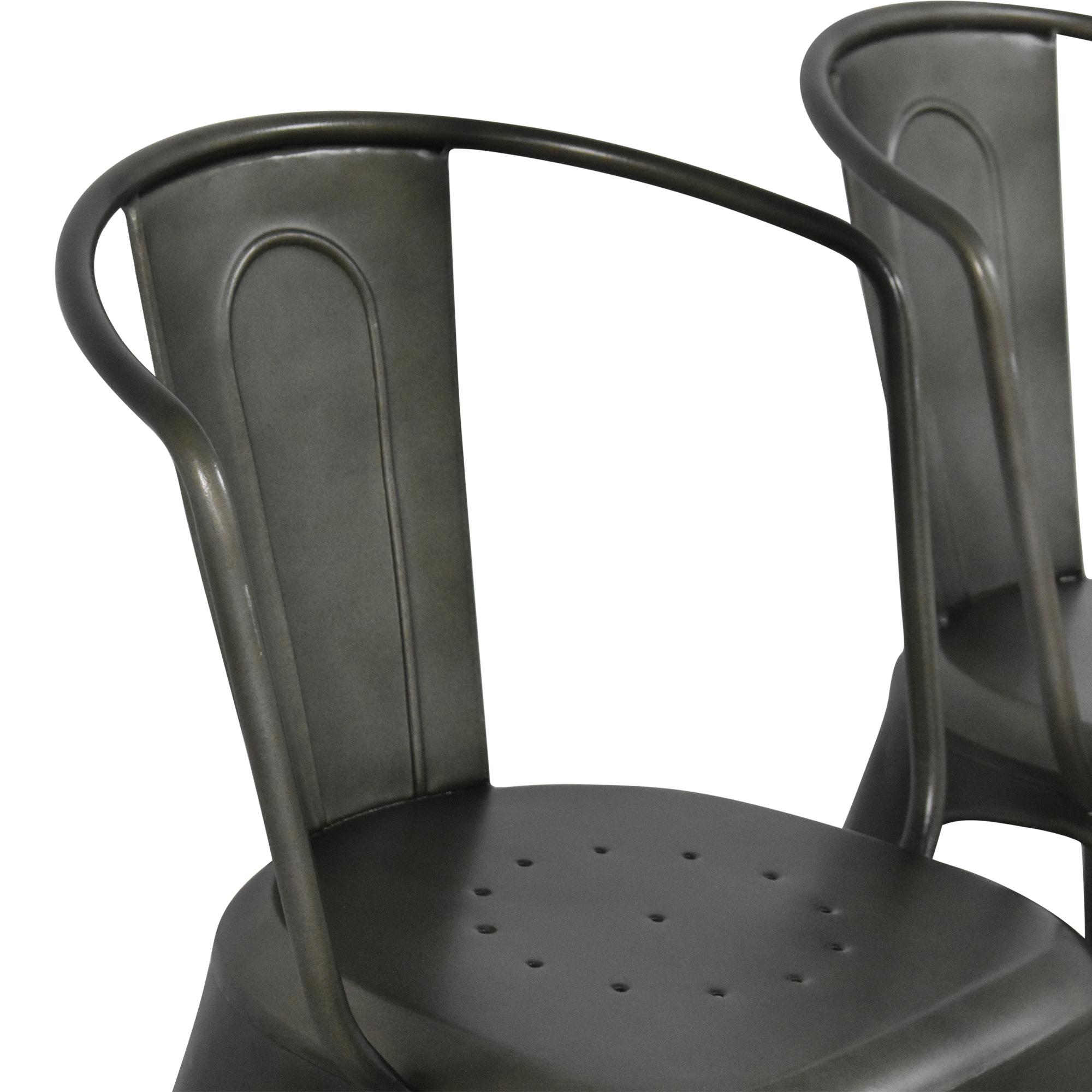 Restoration Hardware Marcel Modern Armchairs / Chairs