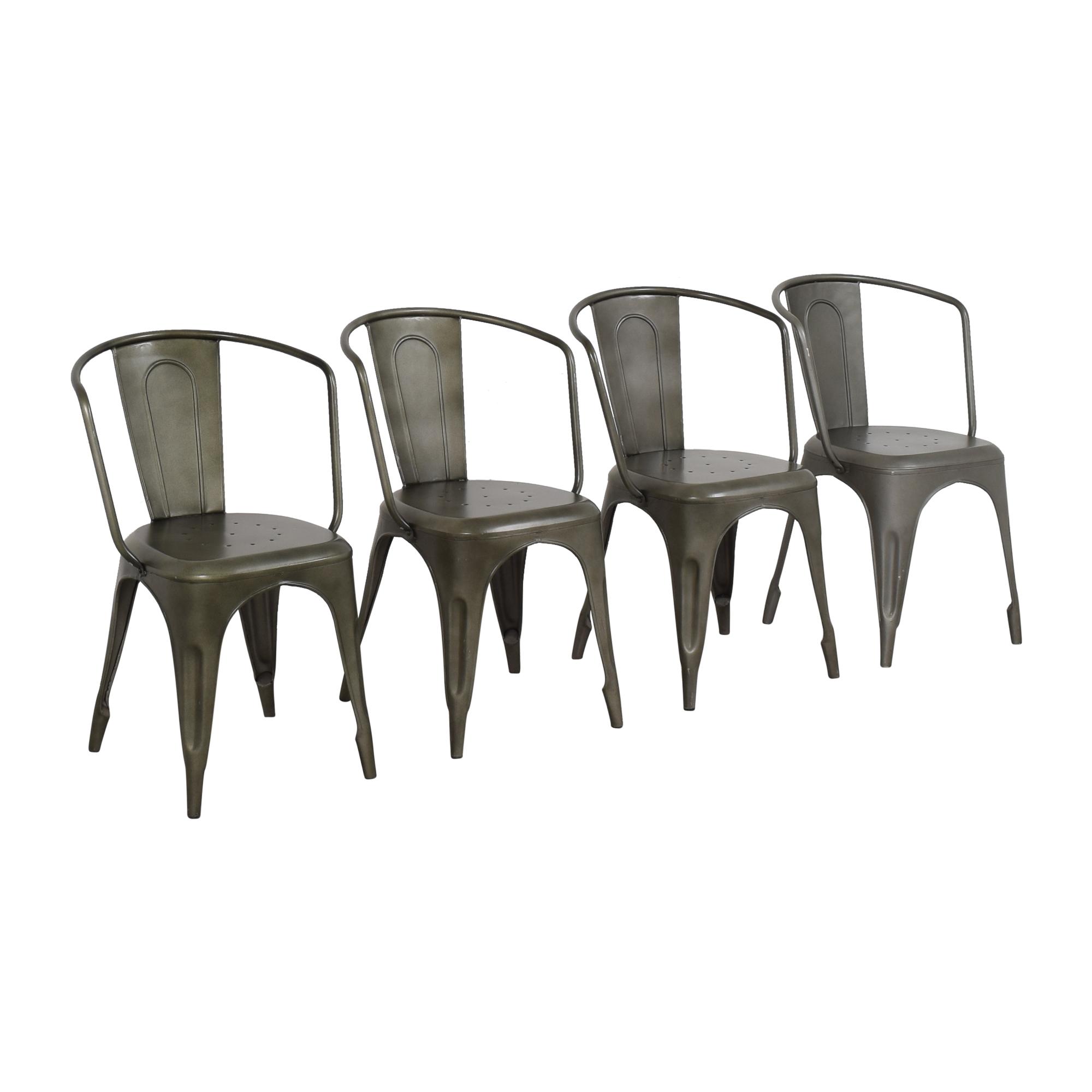 shop Restoration Hardware Marcel Modern Armchairs Restoration Hardware Dining Chairs