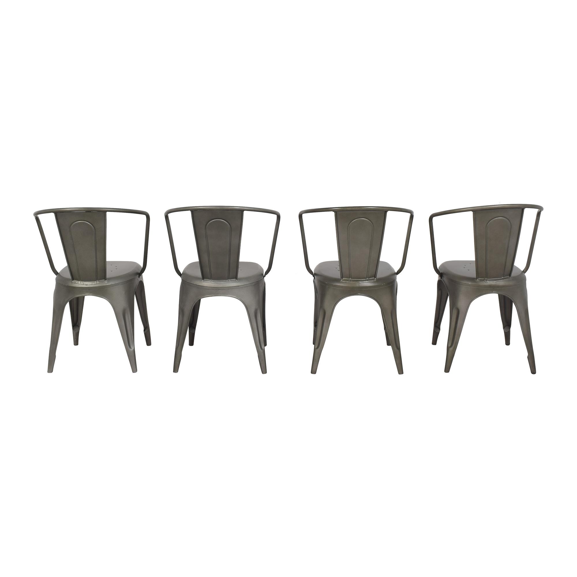 buy Restoration Hardware Marcel Modern Armchairs Restoration Hardware Dining Chairs