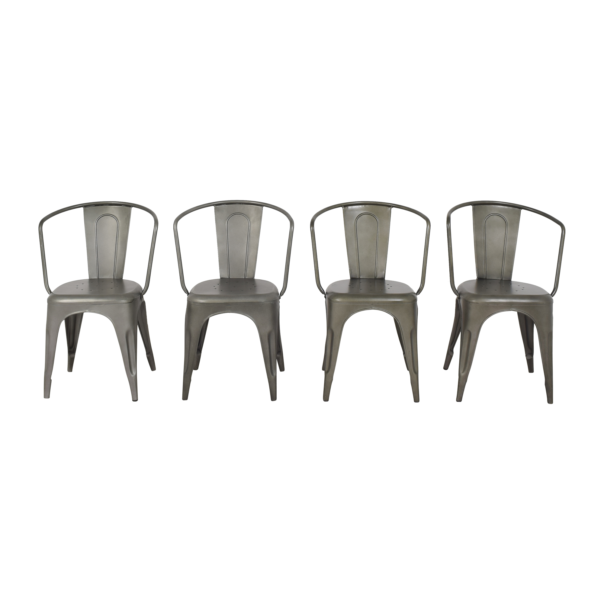 Restoration Hardware Marcel Modern Armchairs / Chairs
