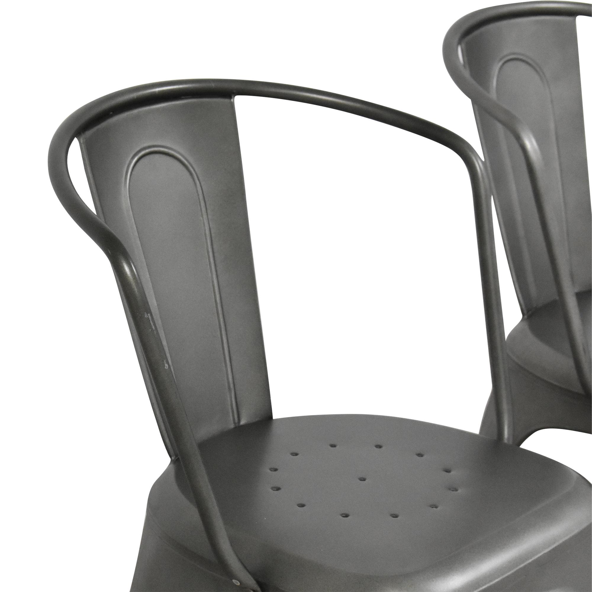 Restoration Hardware Restoration Hardware Marcel Modern Armchairs ct