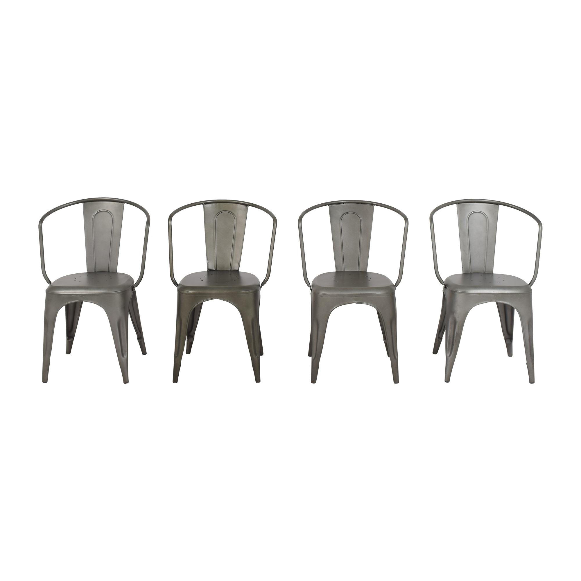 Restoration Hardware Marcel Armchairs / Dining Chairs