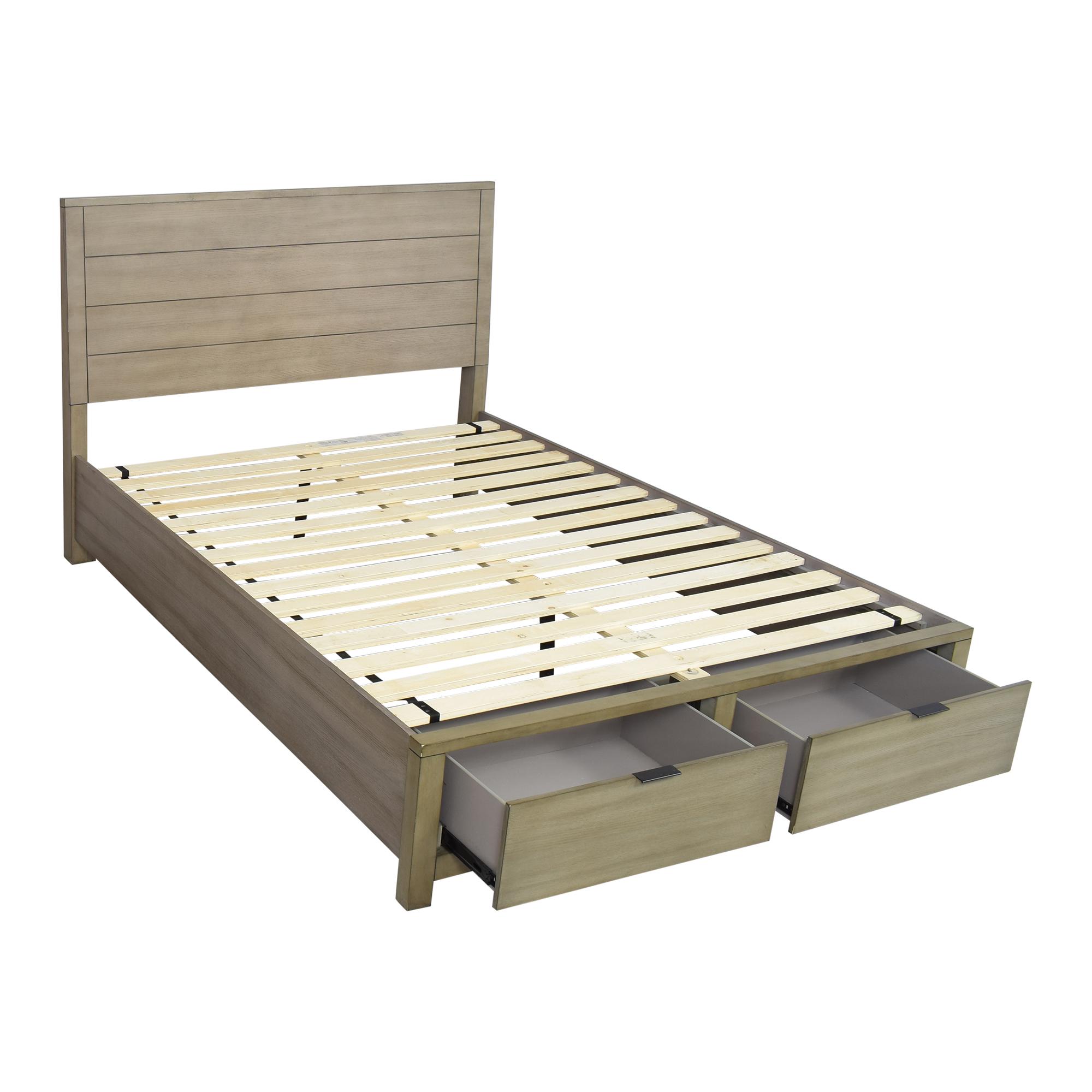 34 Off Macy S Macy S Tribeca Storage Queen Platform Bed Beds