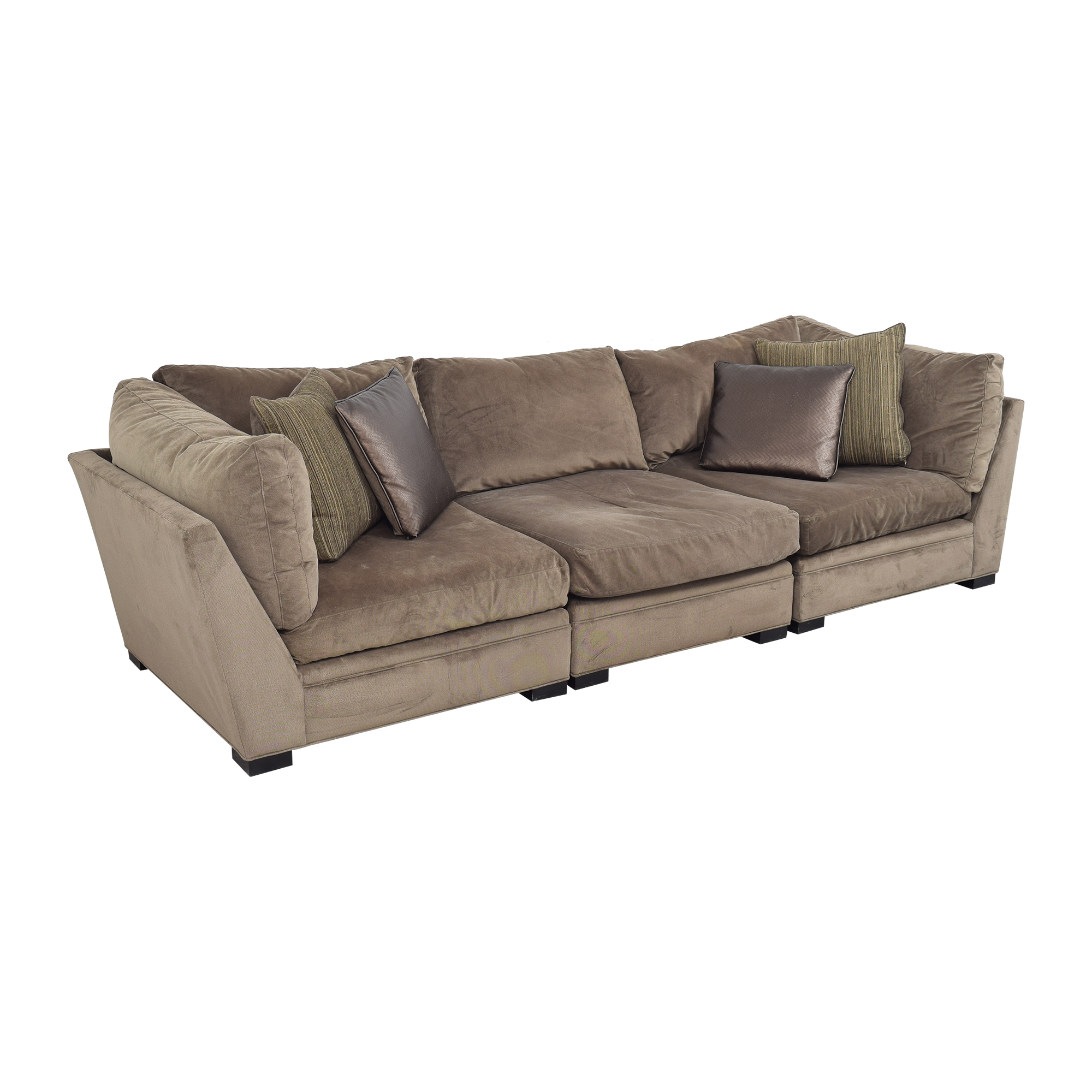 Raymour & Flanigan Raymour & Flanigan Sectional Sofa by Cindy Crawford Home second hand