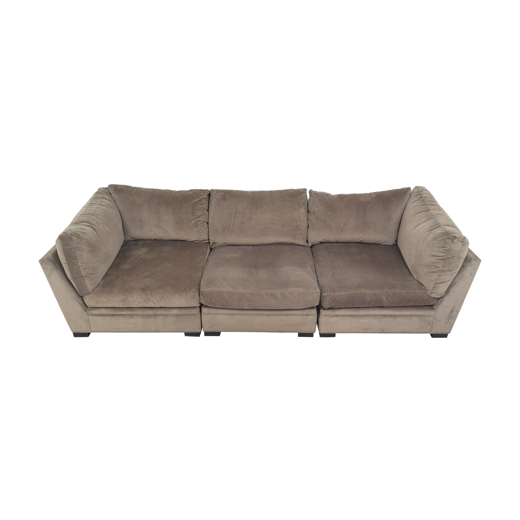 Raymour & Flanigan Raymour & Flanigan Sectional Sofa by Cindy Crawford Home on sale