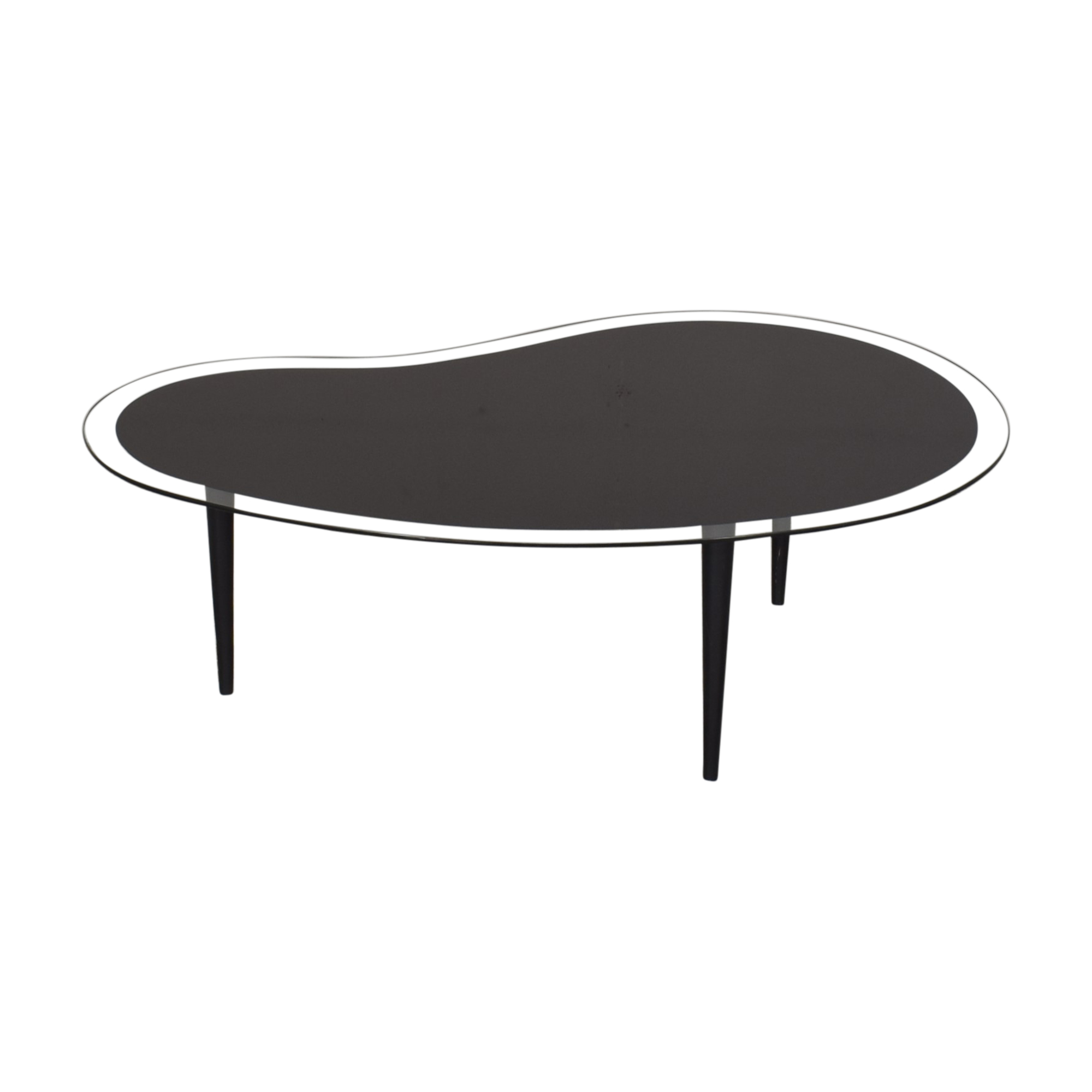Vintage Kidney Shaped Coffee Table