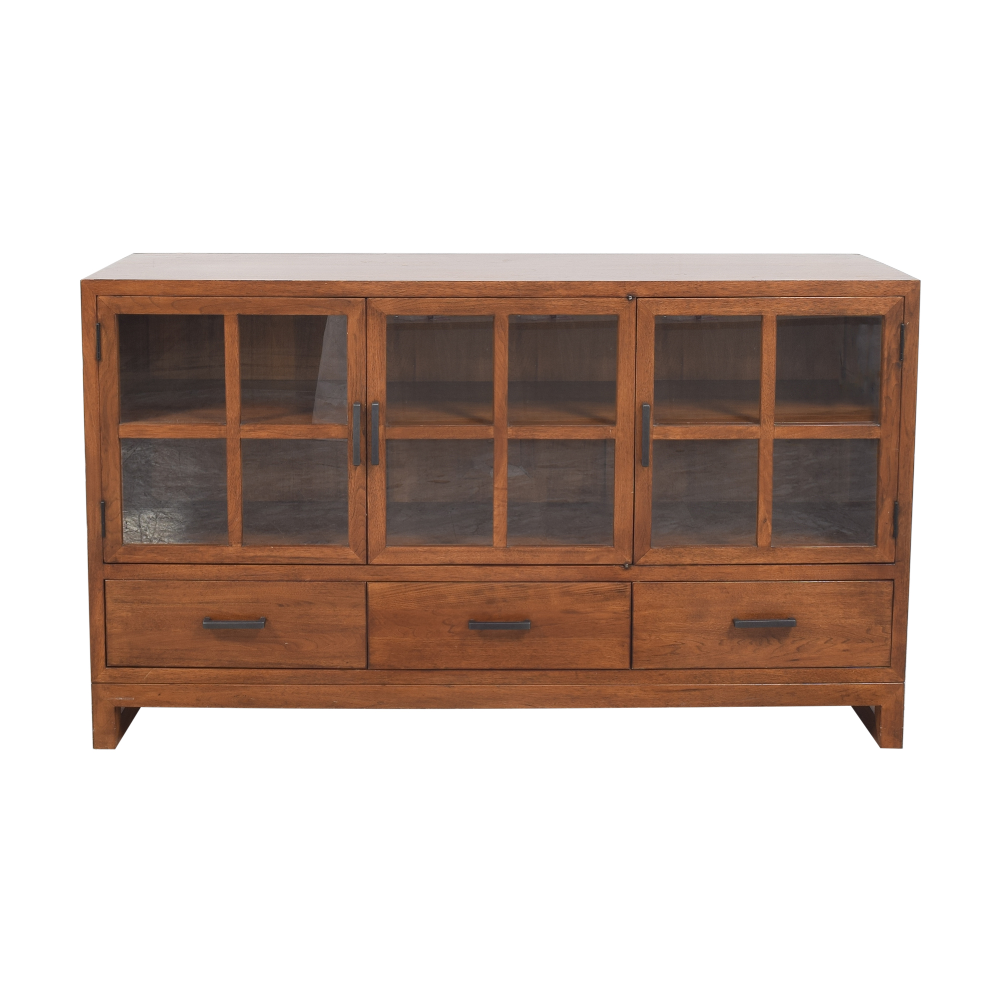shop Crate & Barrel Lattice Sideboard by Maria Yee Crate & Barrel Storage