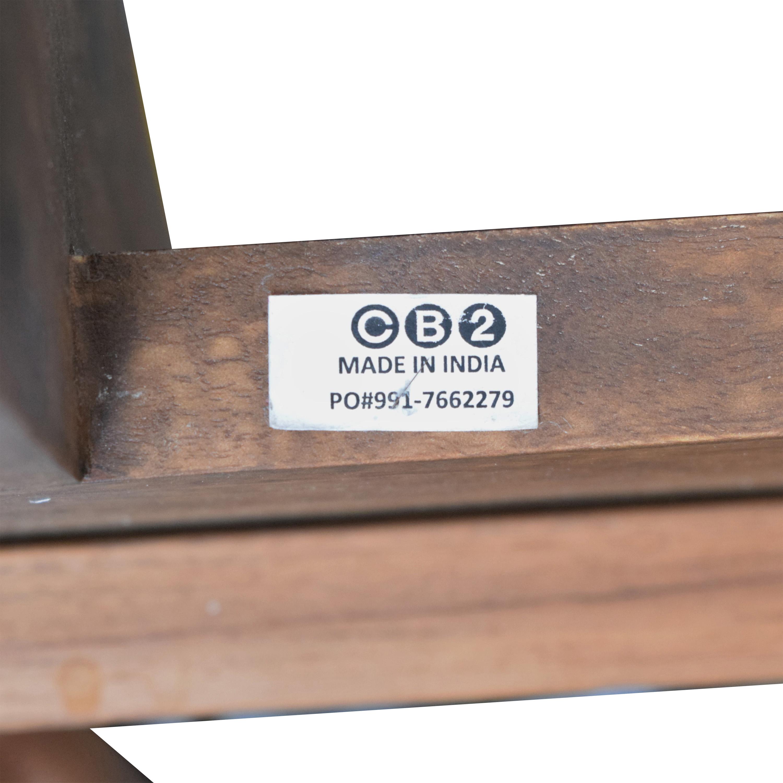 buy CB2 Dondra Queen Bed CB2 Bed Frames
