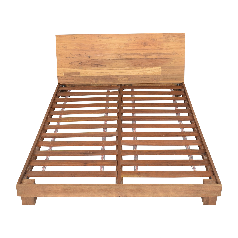 shop CB2 CB2 Dondra Queen Bed online