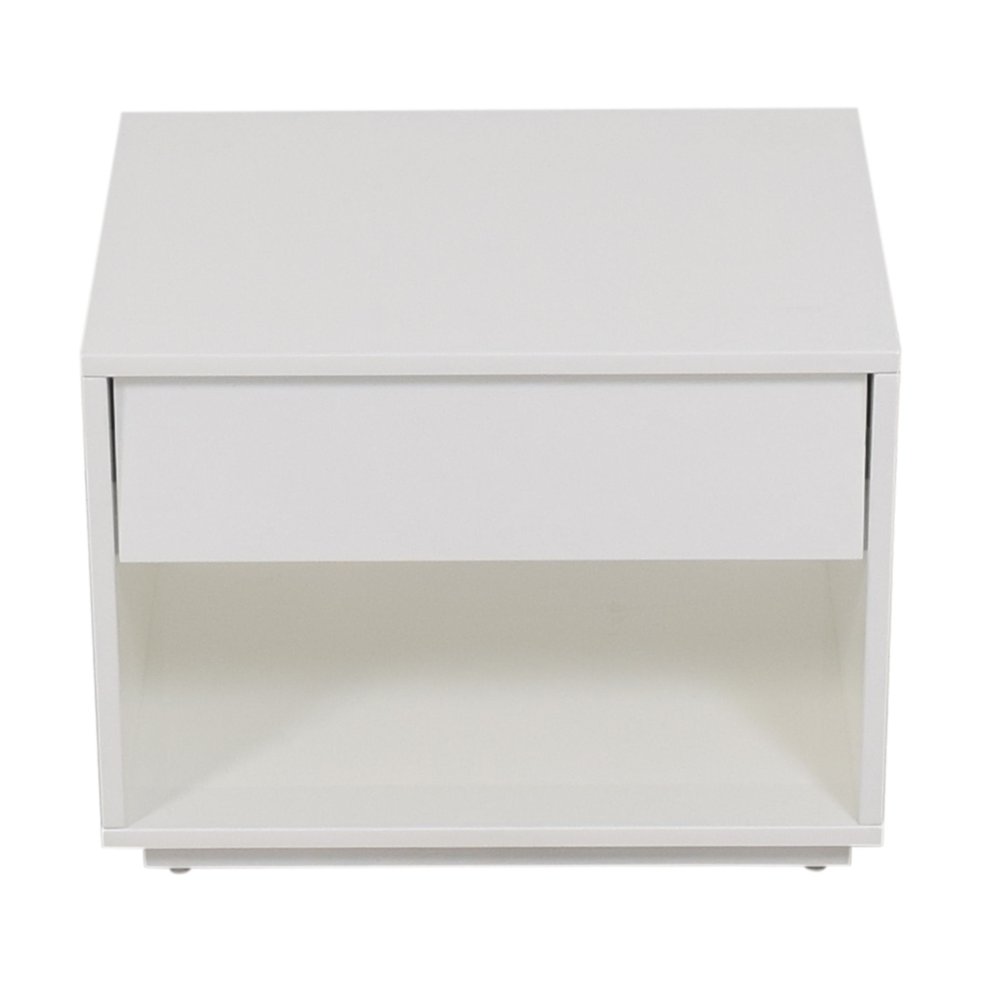 CB2 CB2 Shake One Drawer Nightstand white