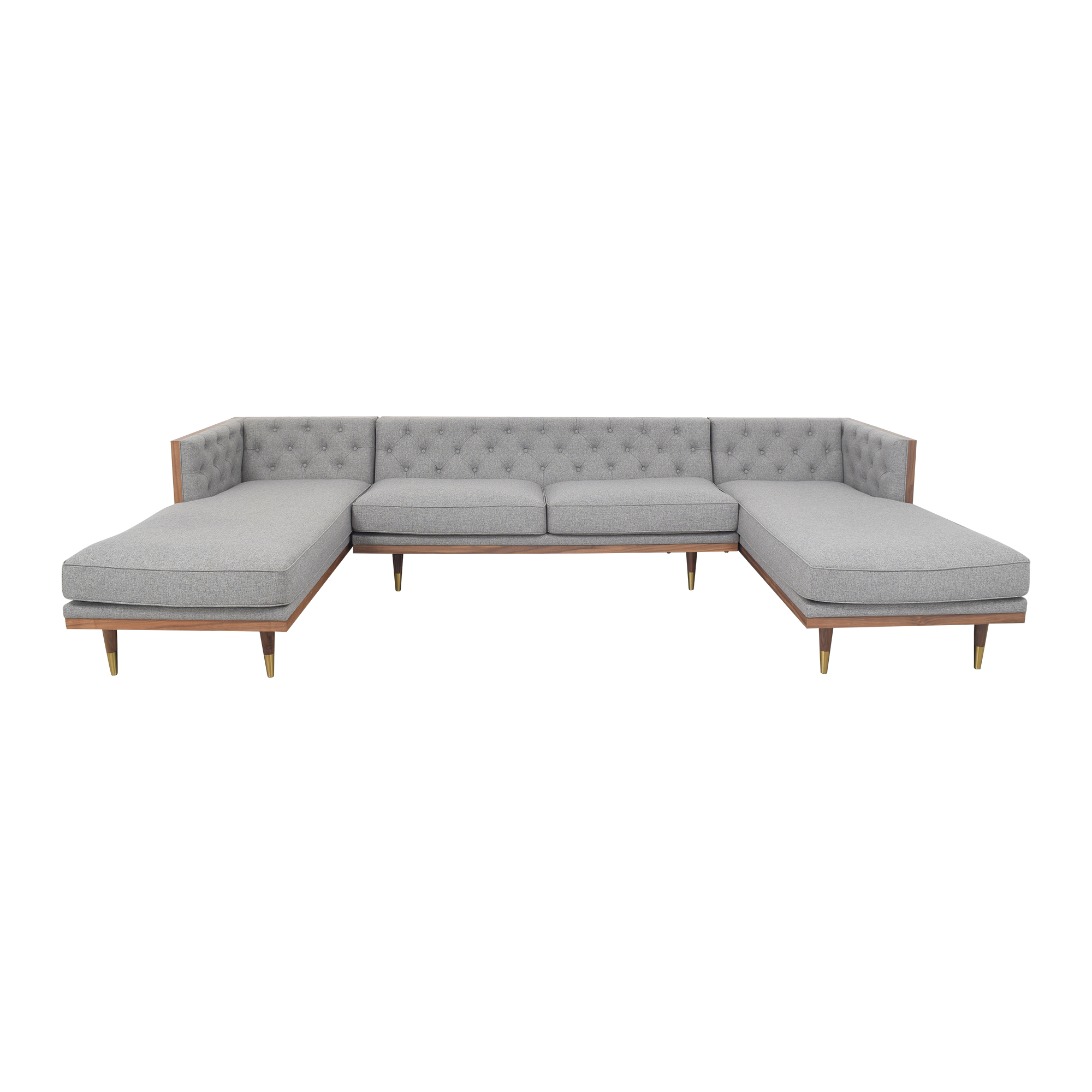 Kardiel Kardiel Woodrow Neo U-Sectional Sofa nyc