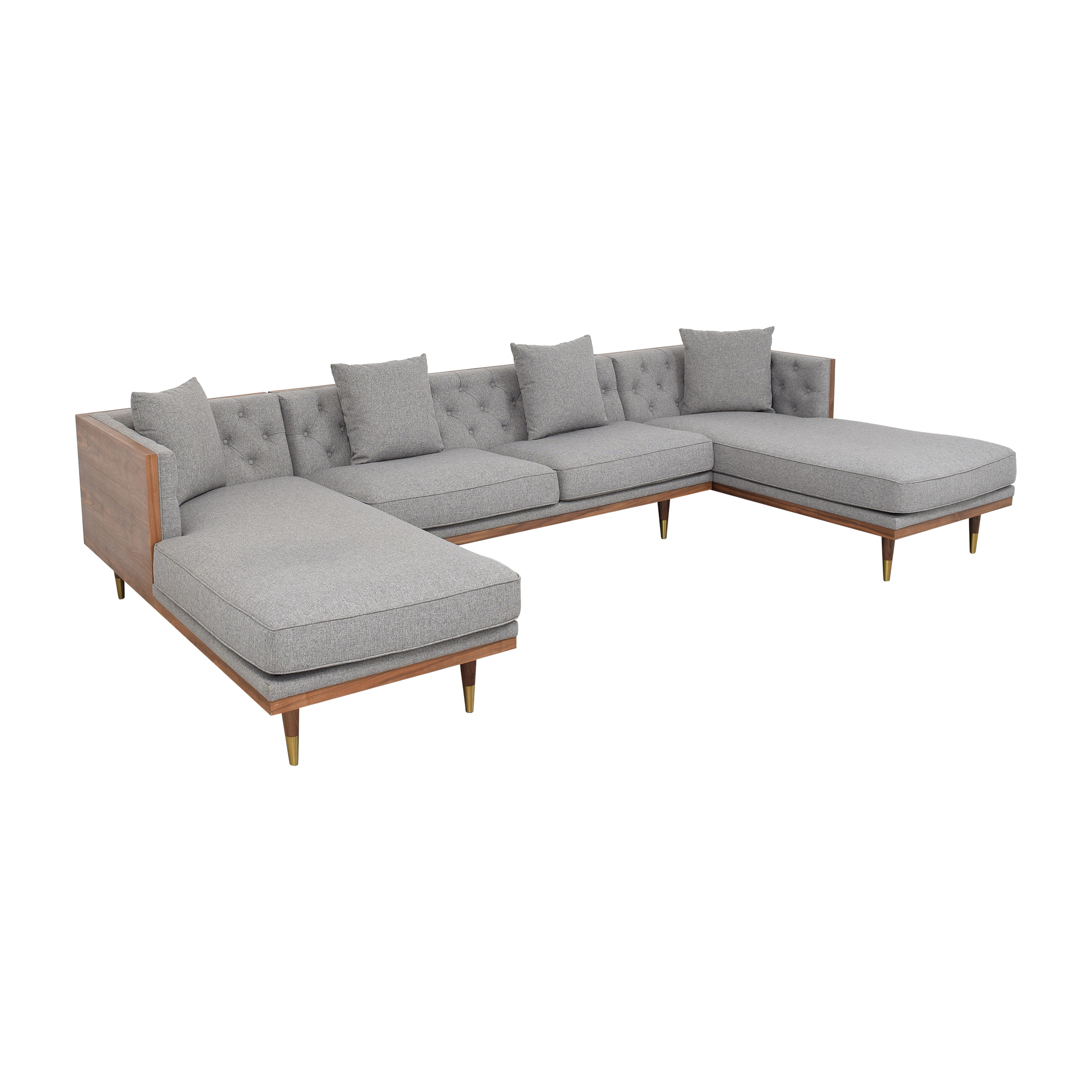 buy Kardiel Woodrow Neo U-Sectional Sofa Kardiel Sectionals