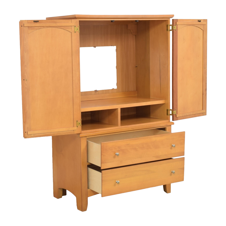 buy Vaughan-Bassett Media Armoire Vaughan-Bassett Wardrobes & Armoires
