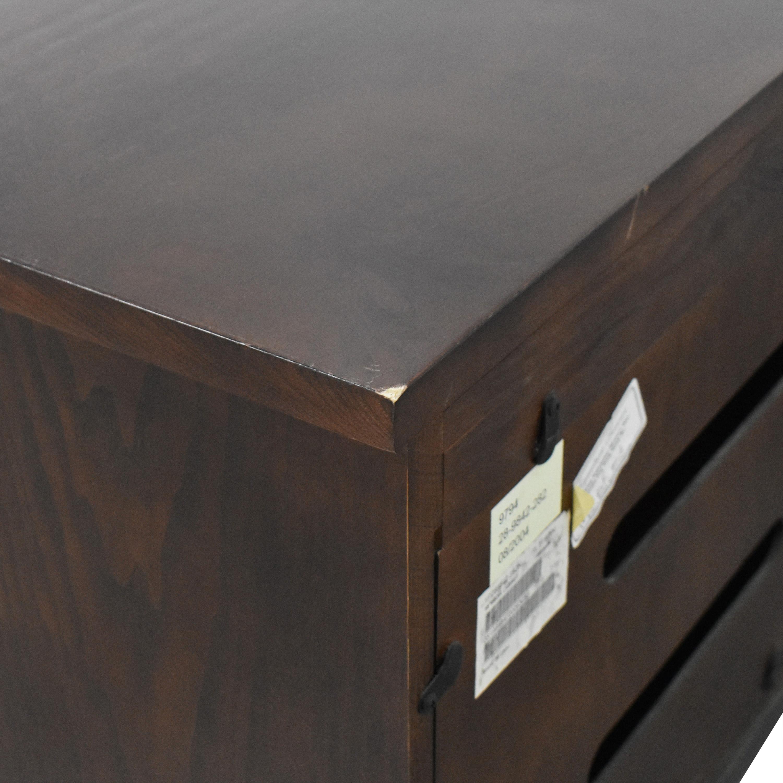 buy Ethan Allen Three Door Media Cabinet Ethan Allen Storage