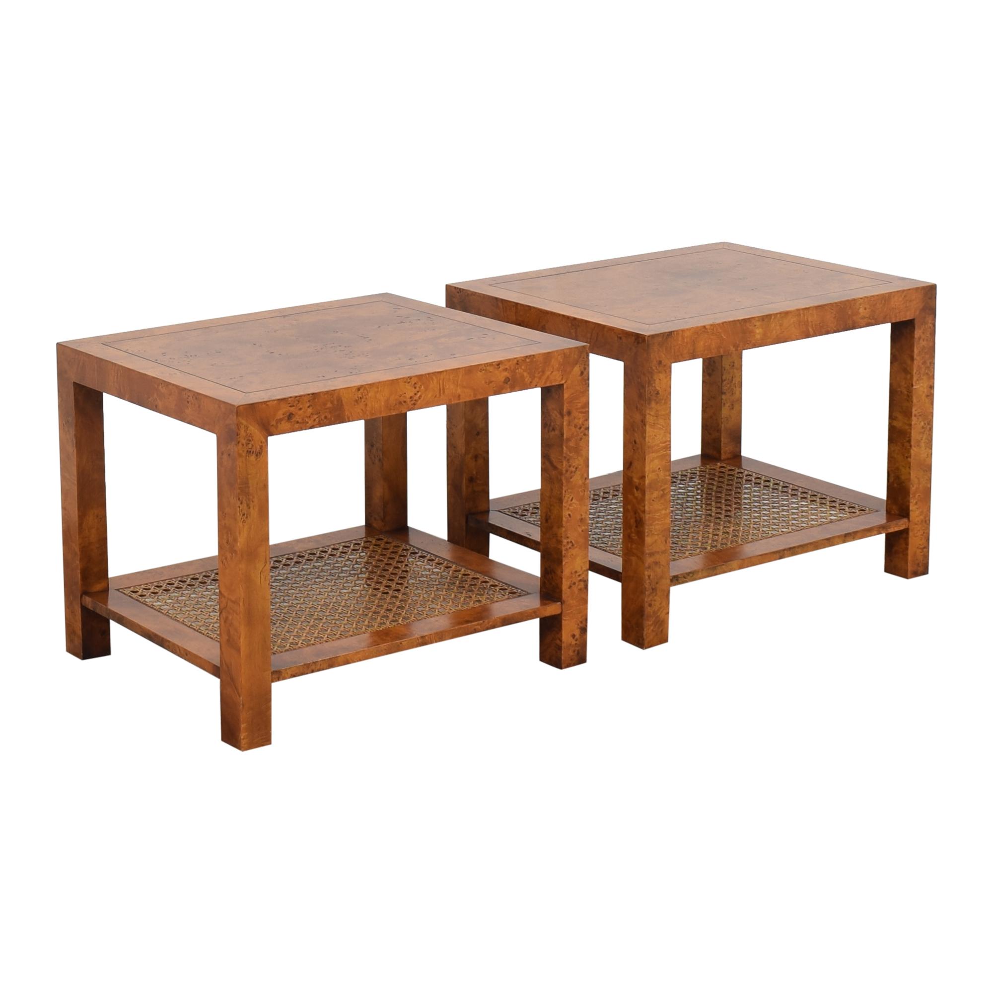 John Stuart Inc. John Stuart Inc. Modern End Tables brown