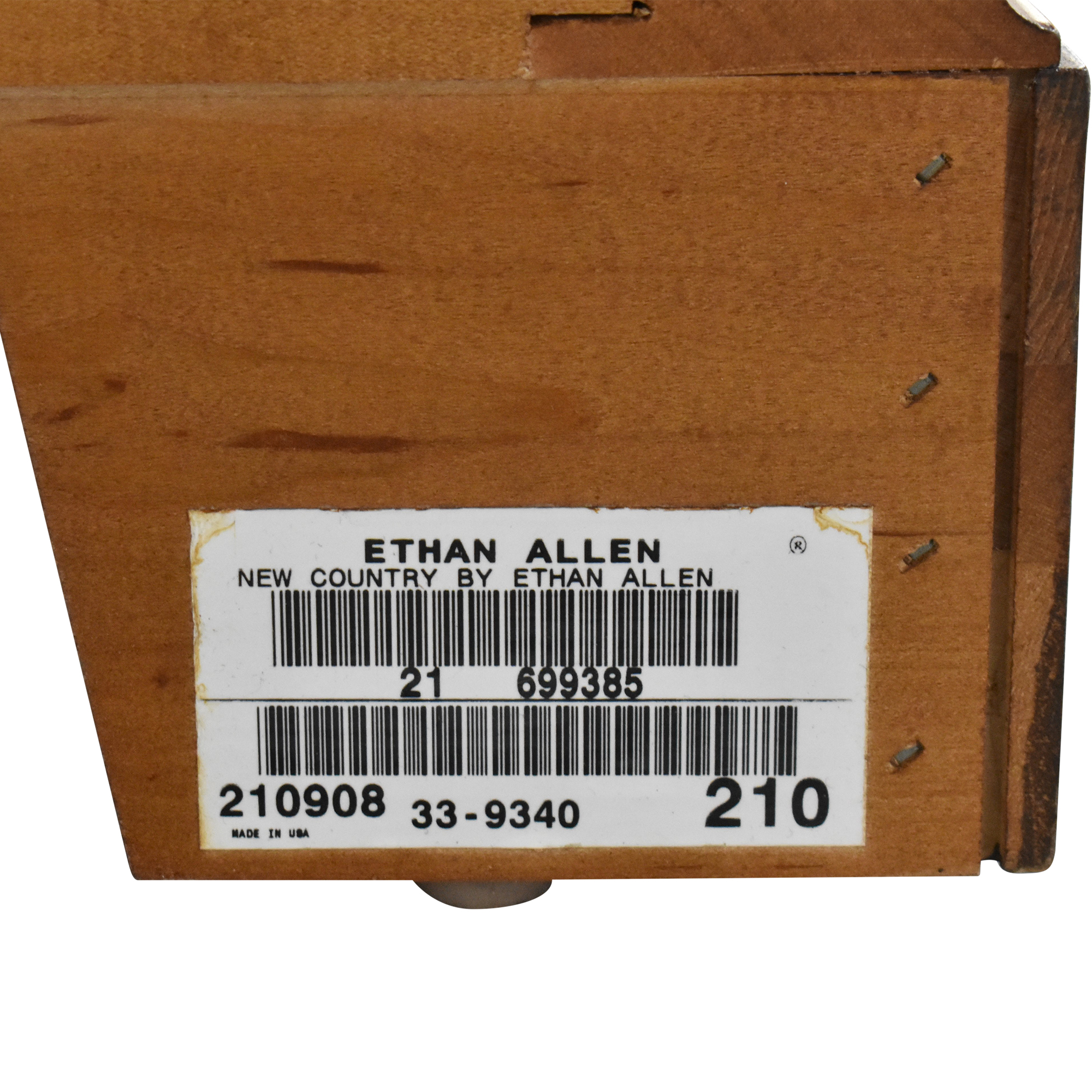 Ethan Allen Ethan Allen New Country Media Cabinet dimensions