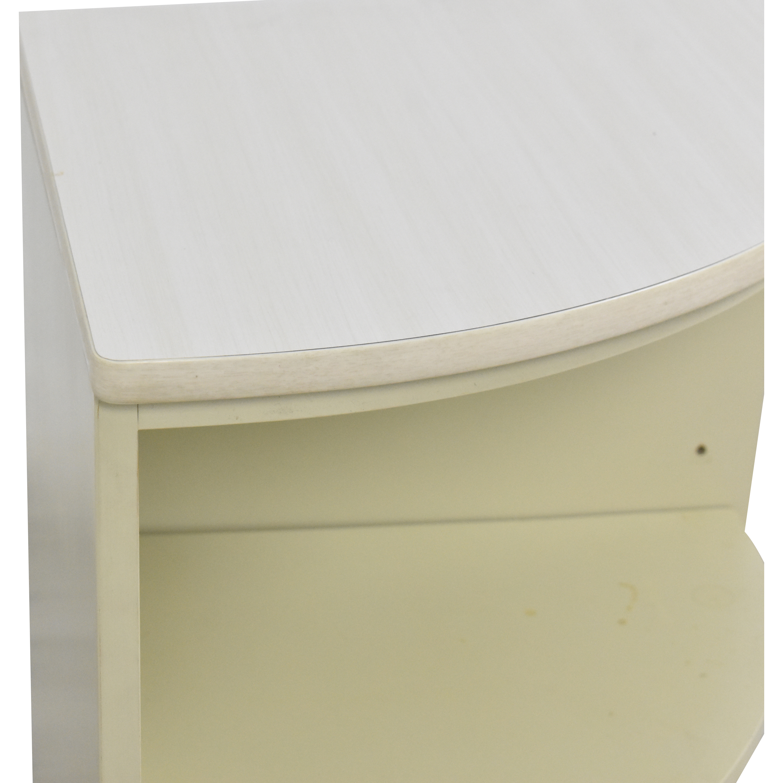Ethan Allen Rounded Corner Shelf / Storage