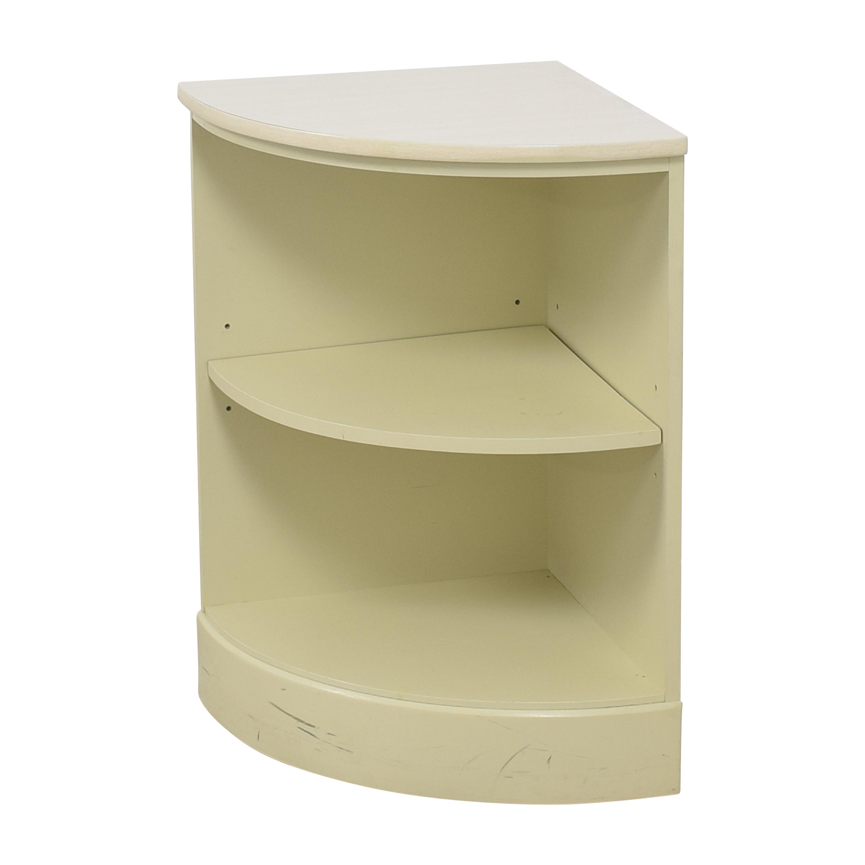 Ethan Allen Ethan Allen Rounded Corner Shelf Bookcases & Shelving