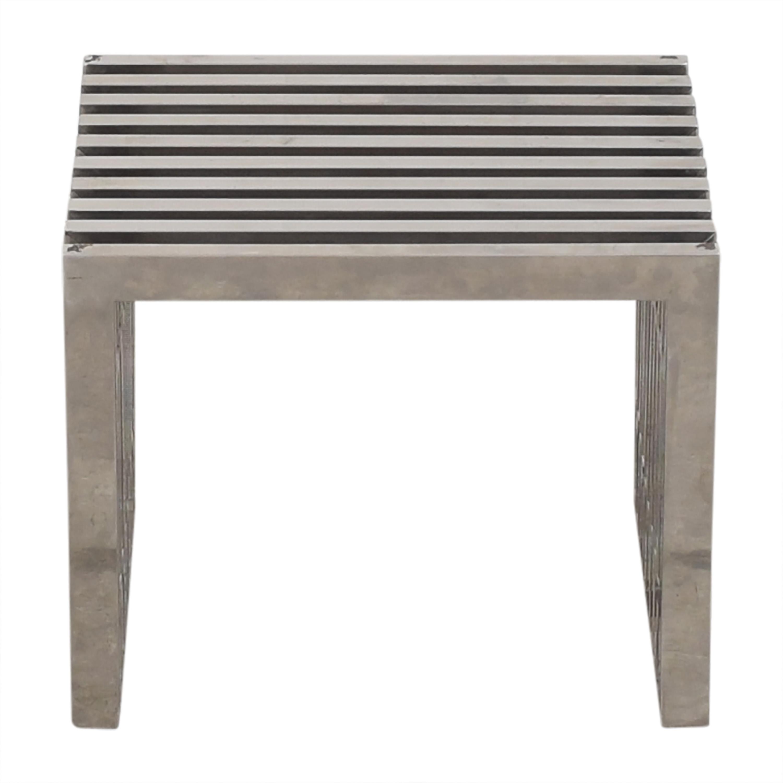 Gridiron Style Coffee Table ma