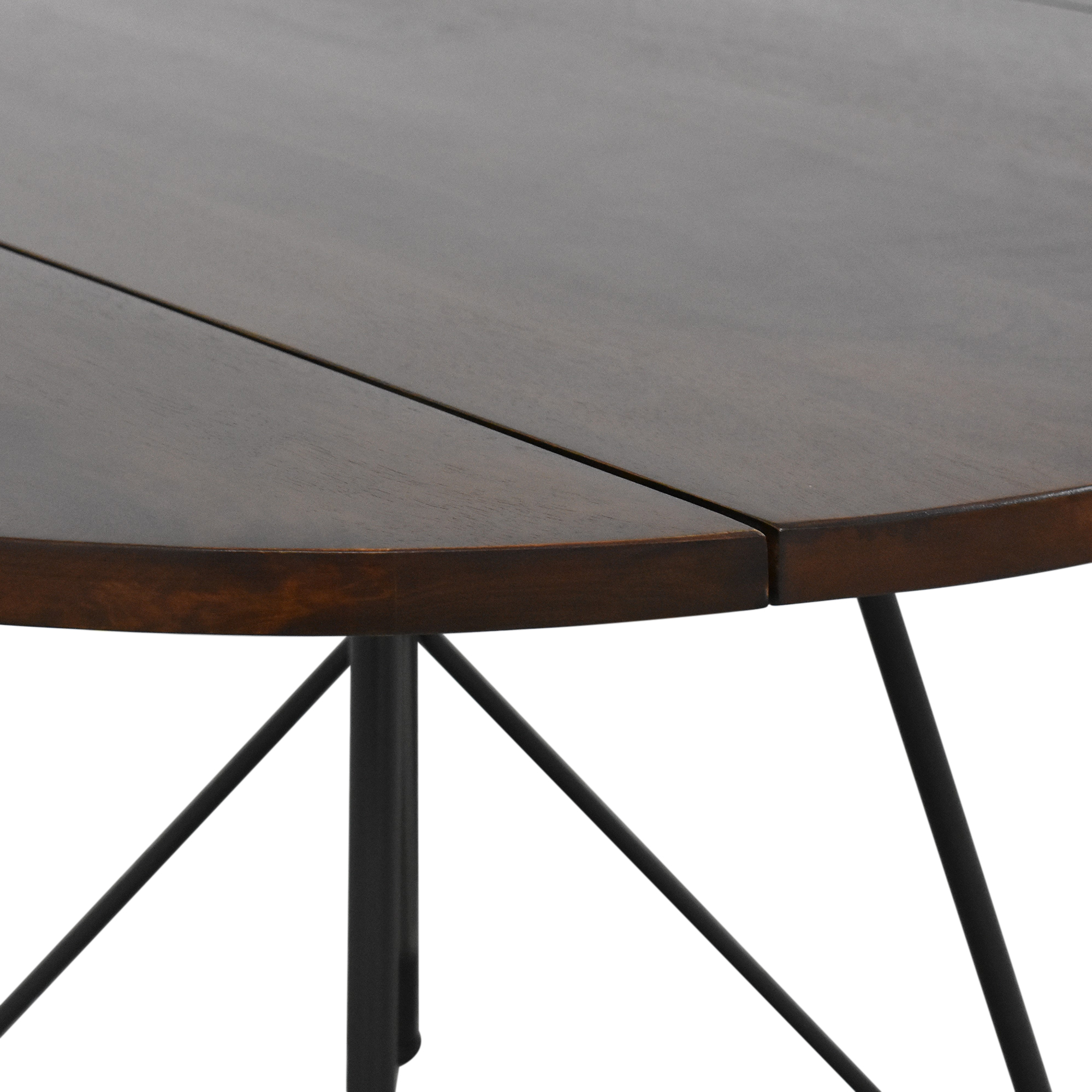 West Elm West Elm Jules Drop Leaf Expandable Dining Table nyc
