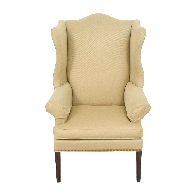 shop Ethan Allen Wing Back Chair Ethan Allen
