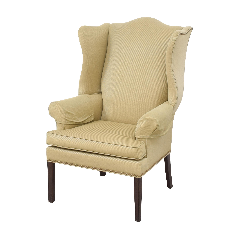 shop Ethan Allen Wing Back Chair Ethan Allen Accent Chairs