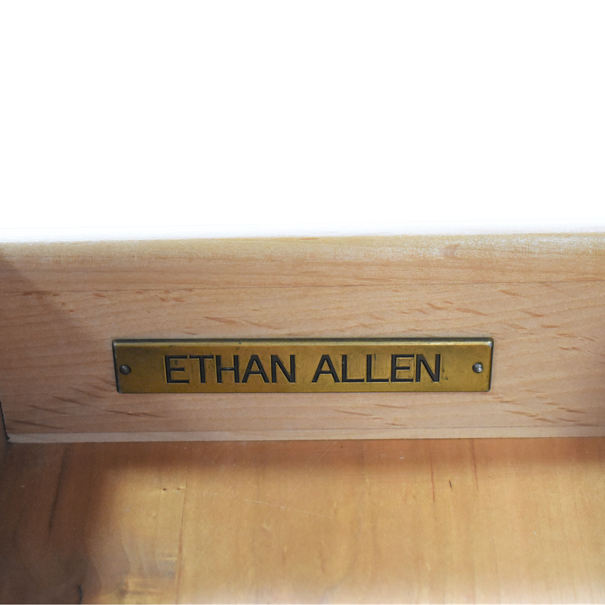 Ethan Allen Ethan Allen Two Drawer Accent Table Accent Tables