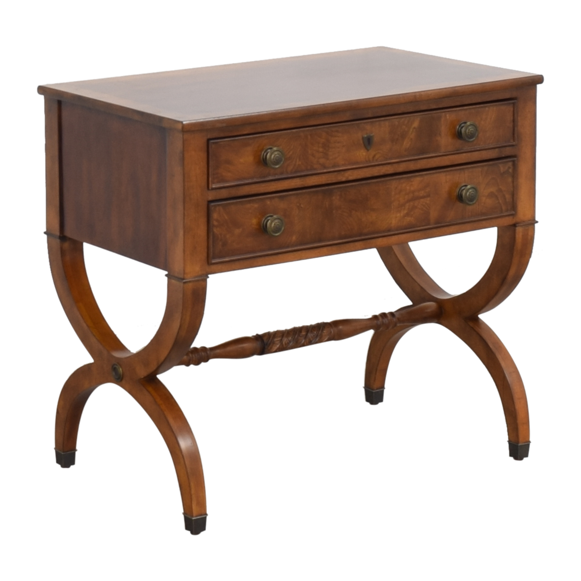 Ethan Allen Two Drawer Accent Table Ethan Allen